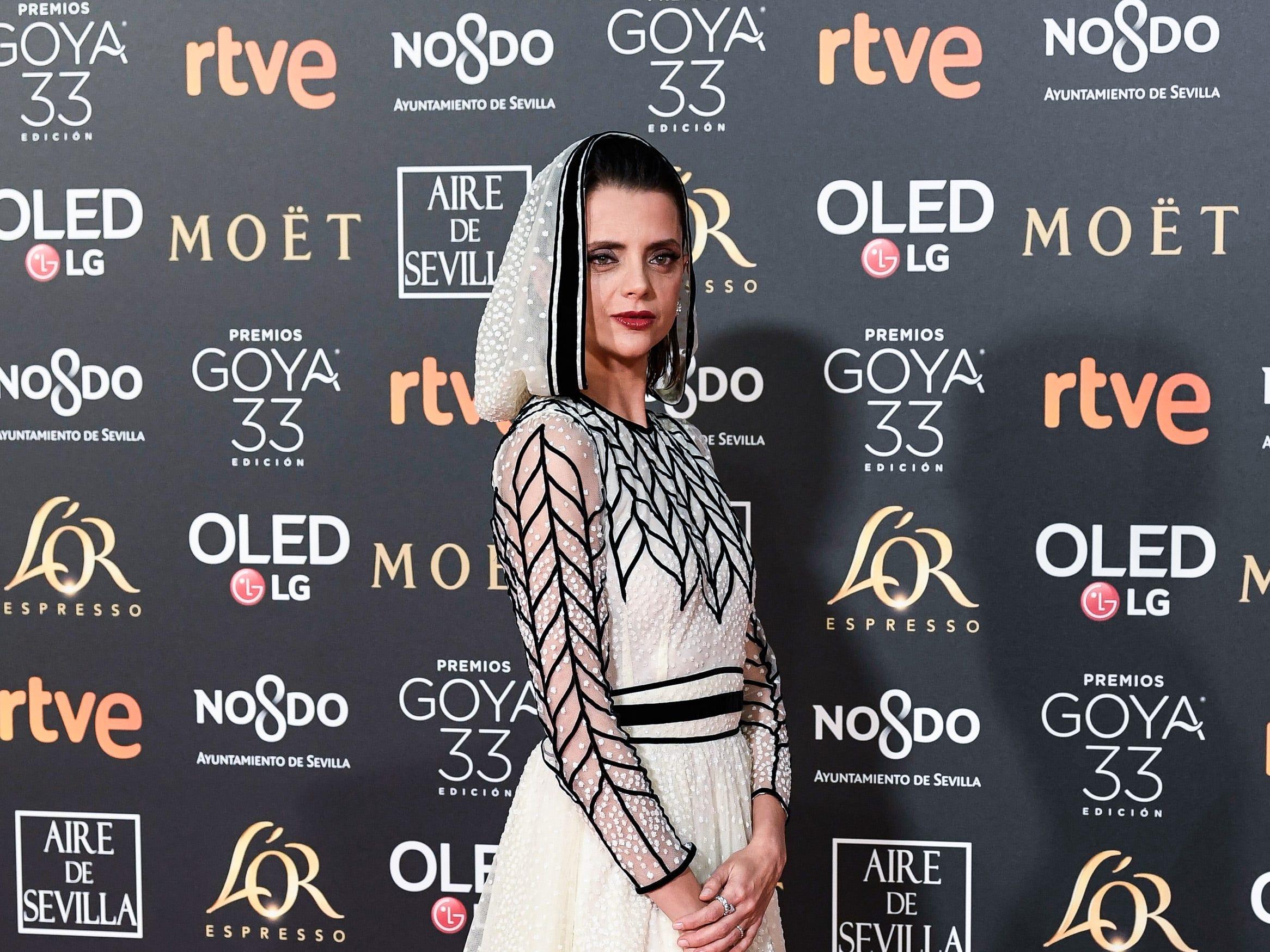 Macarena Gómez asiste a la 33ª edición de los Premios de Cine Goya en el Palacio de Congresos y Exposiciones FIBES el 2 de febrero de 2019 en Sevilla, España.