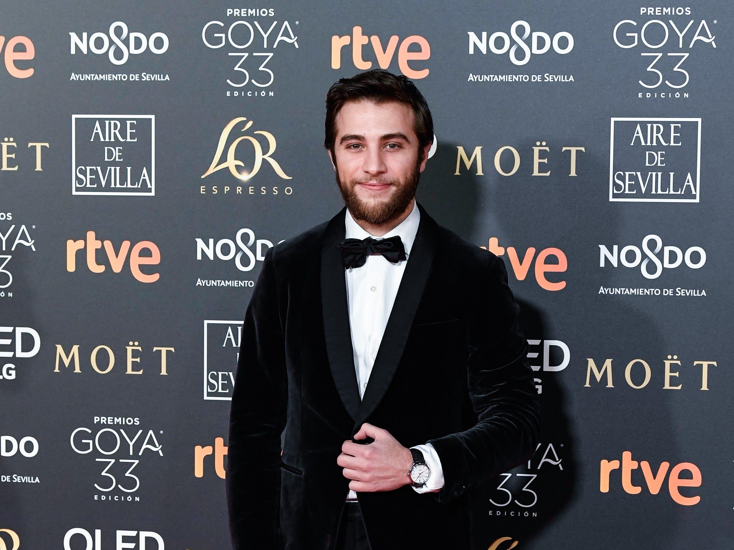 Pol Monen asiste a la 33ª edición de los Premios de Cine Goya en el Palacio de Congresos y Exposiciones FIBES el 2 de febrero de 2019 en Sevilla, España.