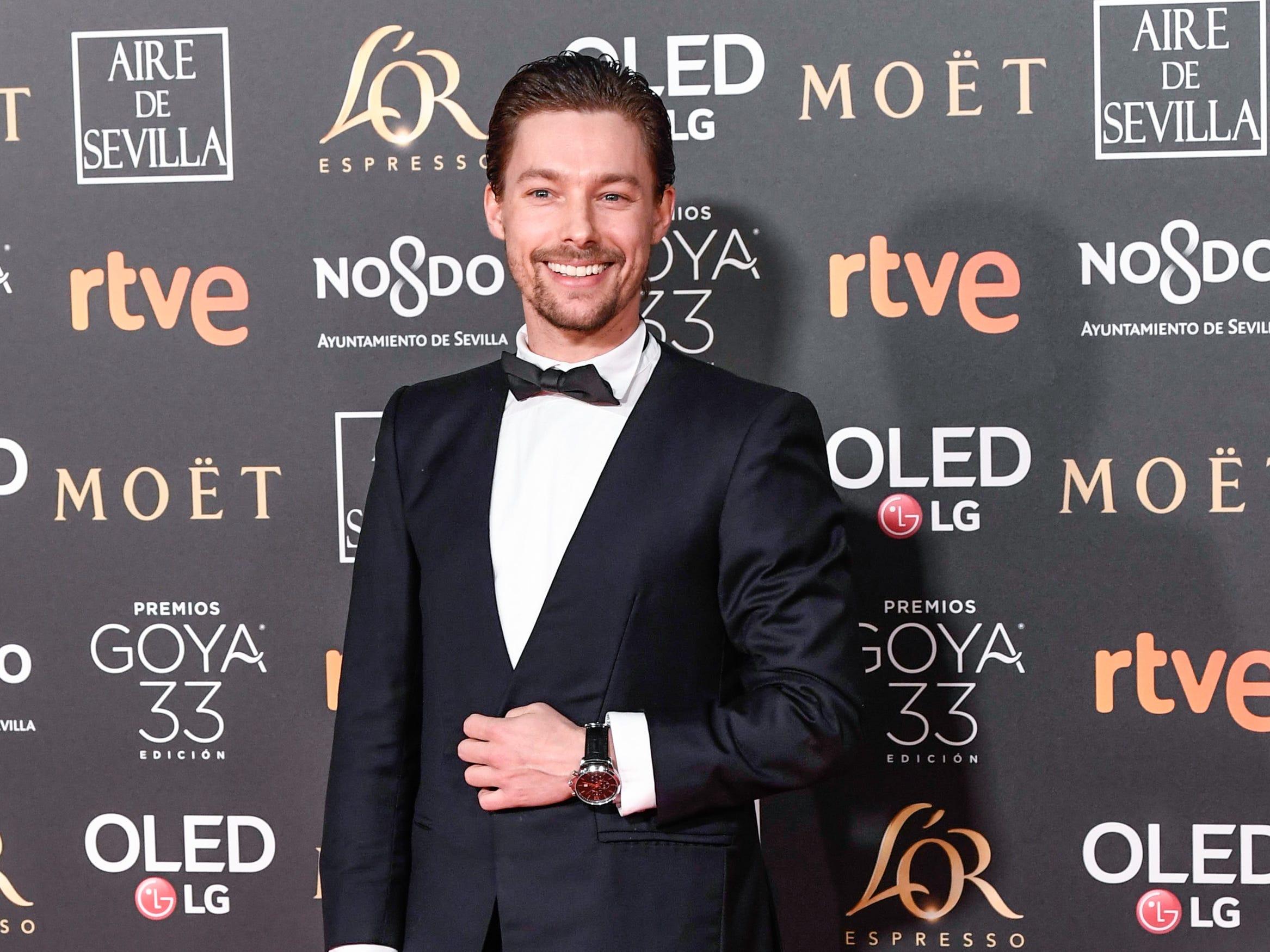Jan Cornet asiste a la 33ª edición de los Premios de Cine Goya en el Palacio de Congresos y Exposiciones FIBES el 2 de febrero de 2019 en Sevilla, España.