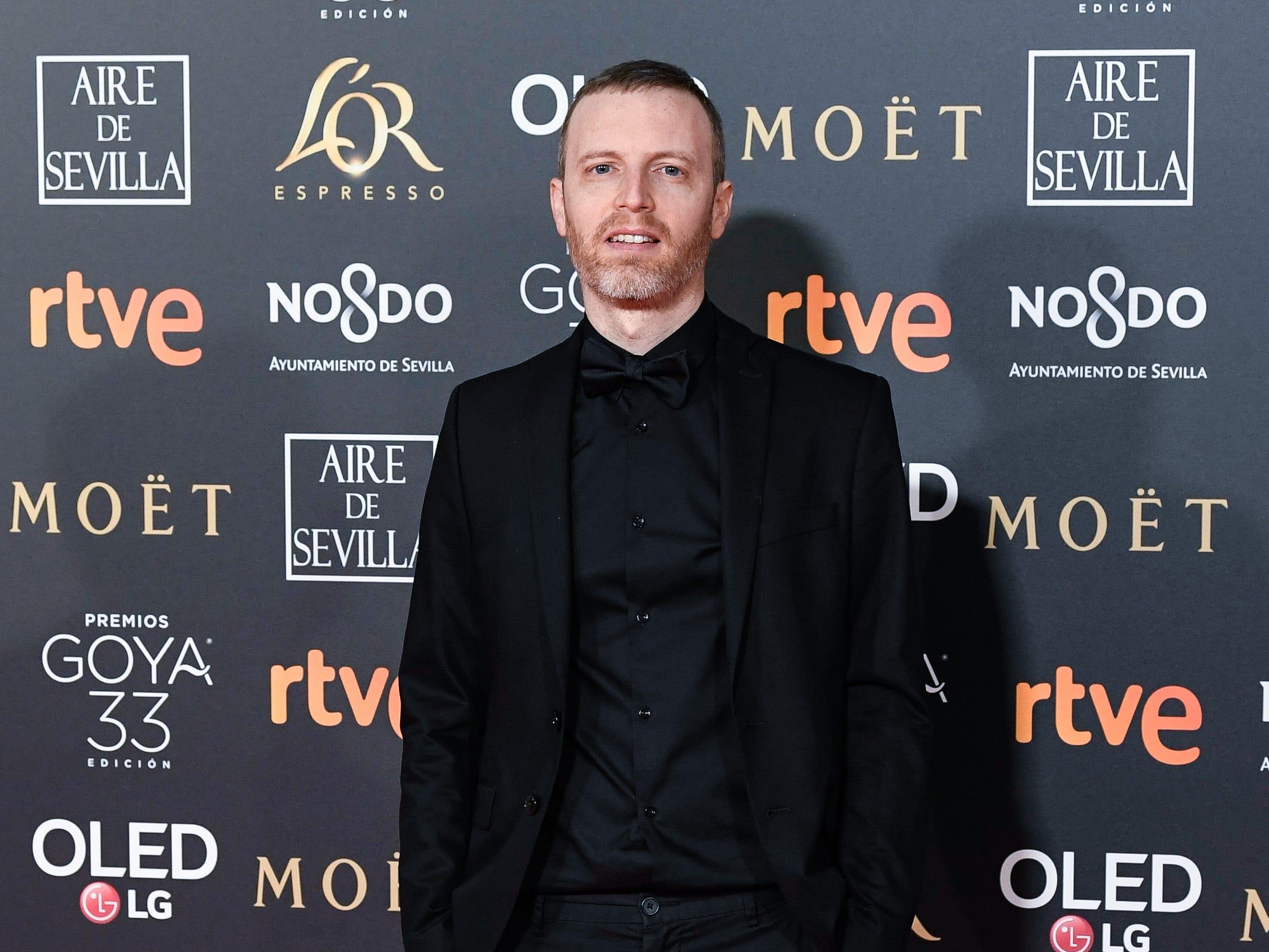 Olivier Arson asiste a la 33ª edición de los Premios de Cine Goya en el Palacio de Congresos y Exposiciones FIBES el 2 de febrero de 2019 en Sevilla, España.