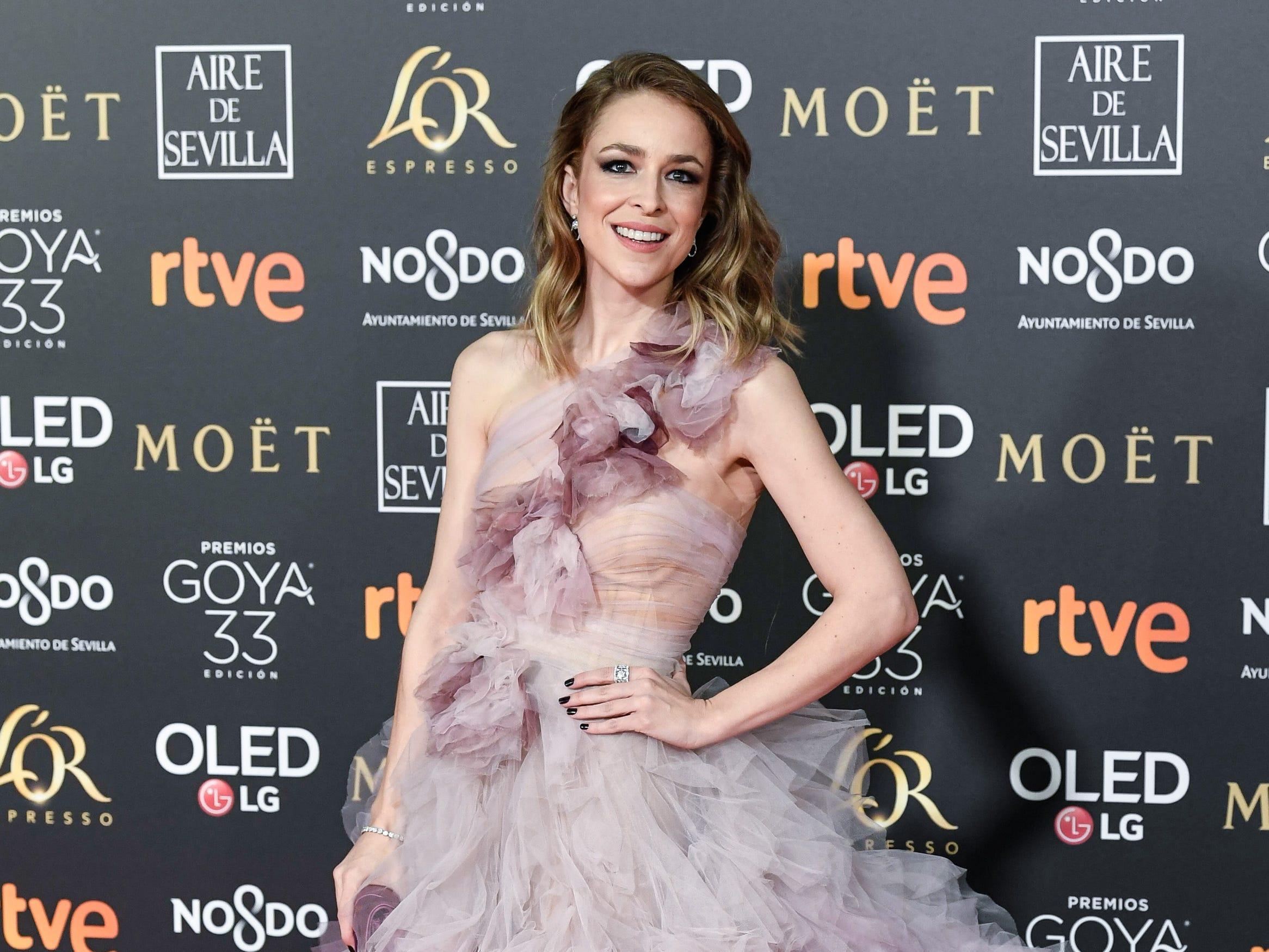 Silvia Abascal asiste a la 33ª edición de los Premios de Cine Goya en el Palacio de Congresos y Exposiciones FIBES el 2 de febrero de 2019 en Sevilla, España.