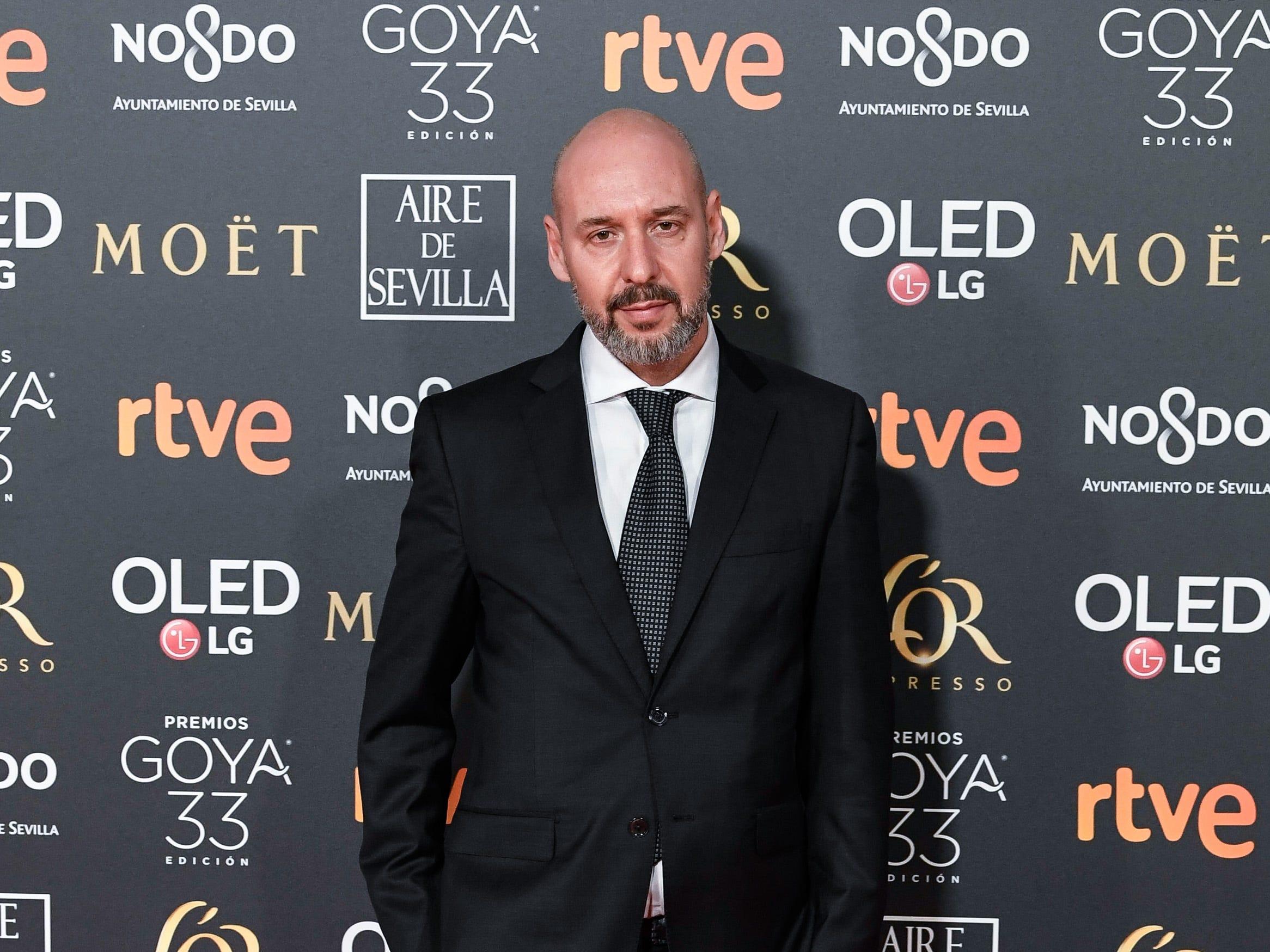 Jaume Balaguero asiste a la 33ª edición de los Premios de Cine Goya en el Palacio de Congresos y Exposiciones FIBES el 2 de febrero de 2019 en Sevilla, España.