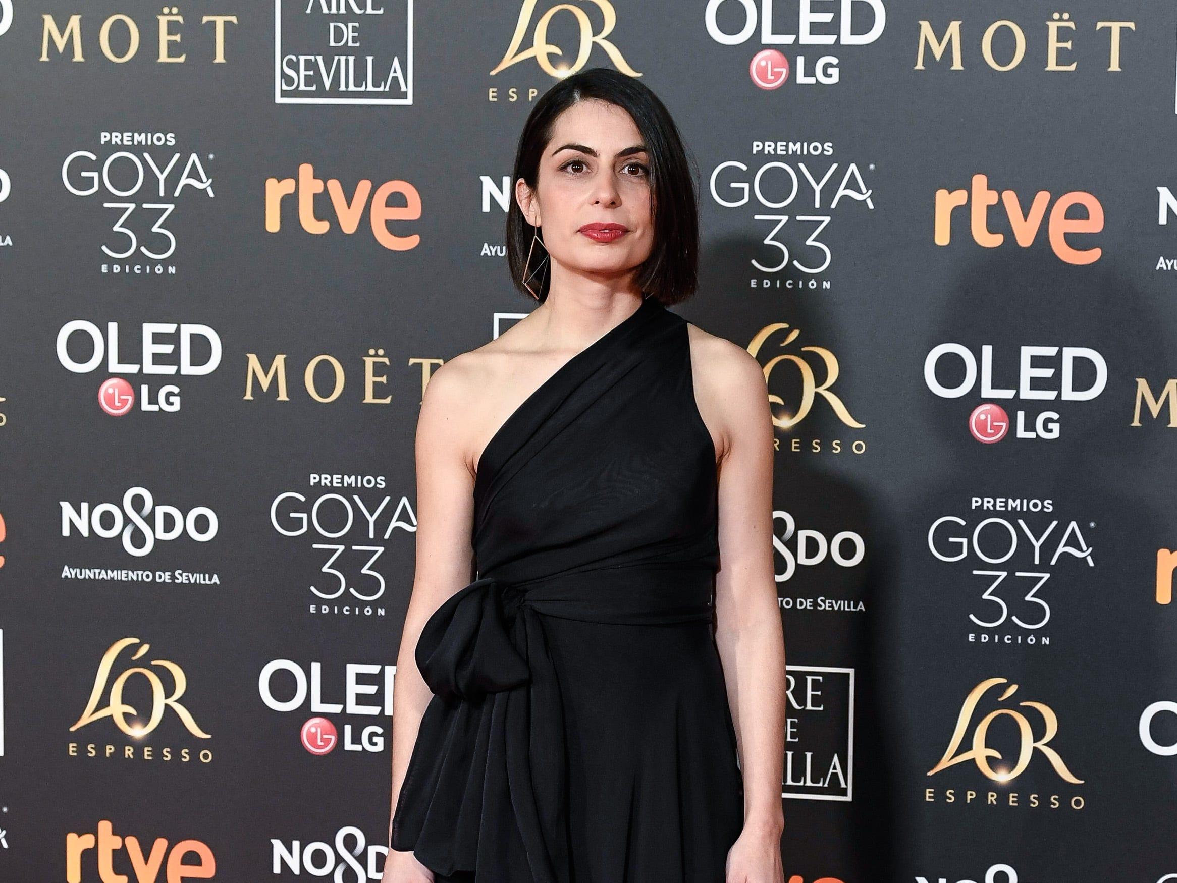 Celia Rico asiste a la 33ª edición de los Premios de Cine Goya en el Palacio de Congresos y Exposiciones FIBES el 2 de febrero de 2019 en Sevilla, España.