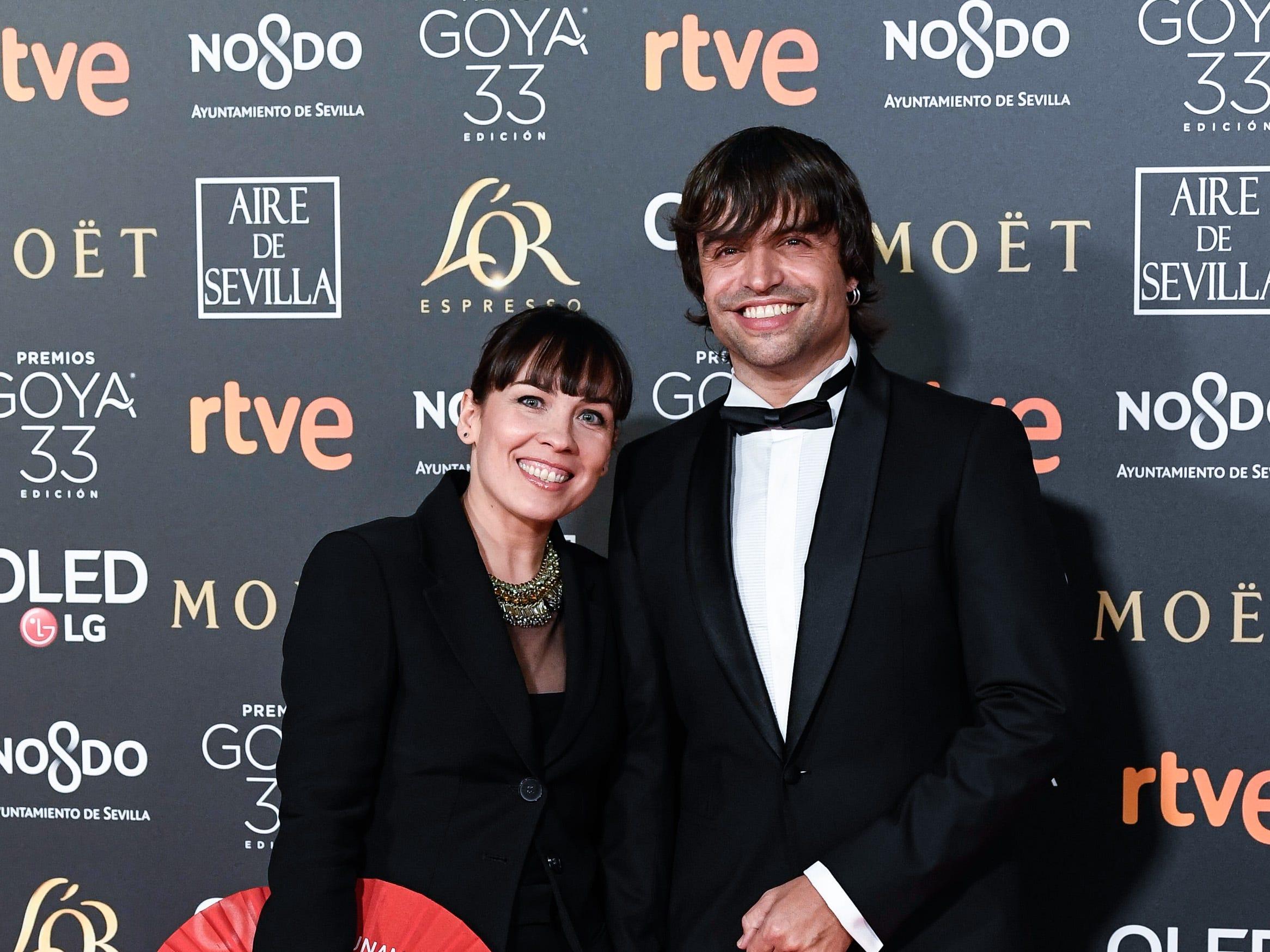Manu Guix asiste a la 33ª edición de los Premios de Cine Goya en el Palacio de Congresos y Exposiciones FIBES el 2 de febrero de 2019 en Sevilla, España.