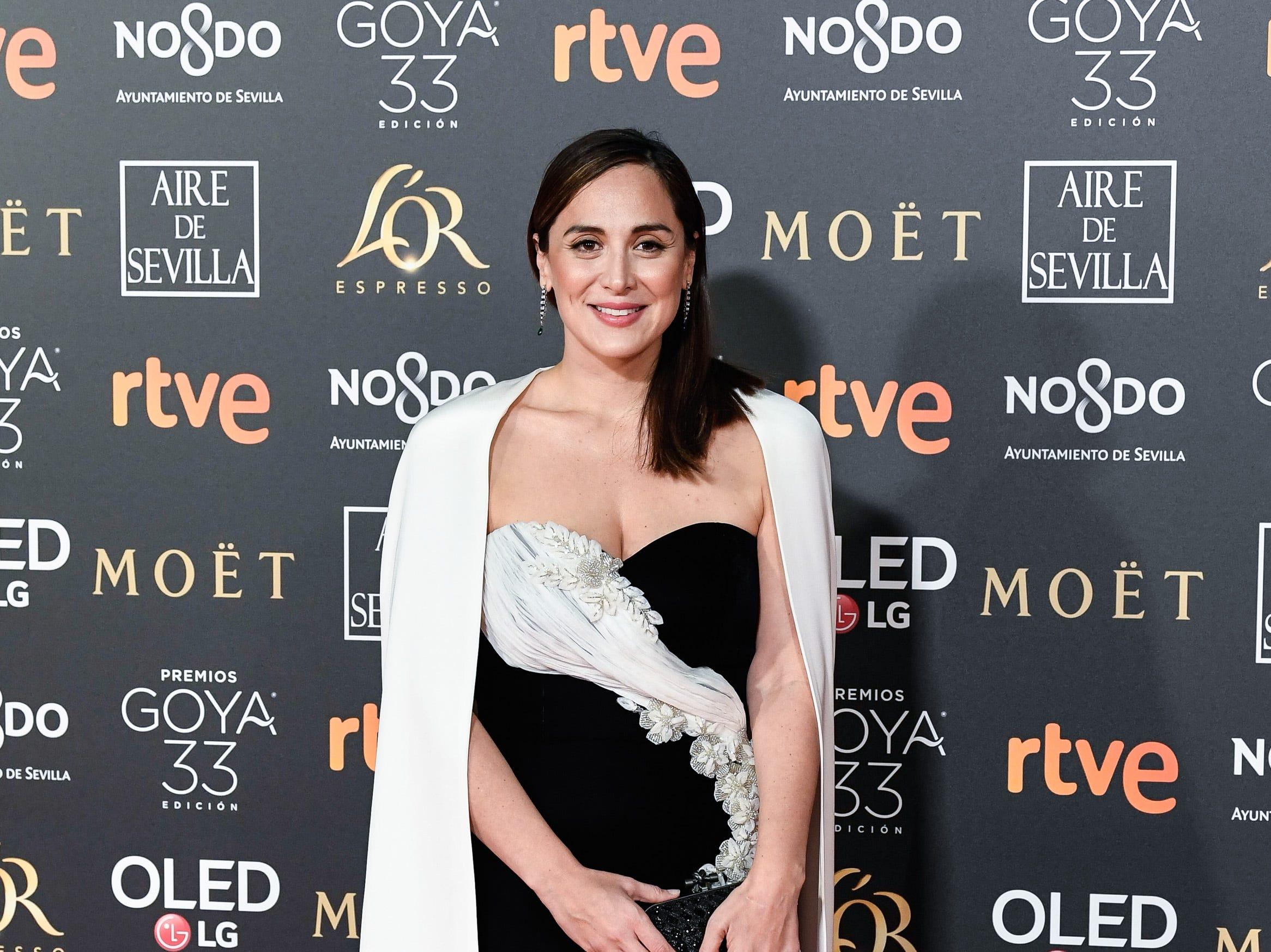 Tamara Falco asiste a la 33ª edición de los Premios de Cine Goya en el Palacio de Congresos y Exposiciones FIBES el 2 de febrero de 2019 en Sevilla, España.
