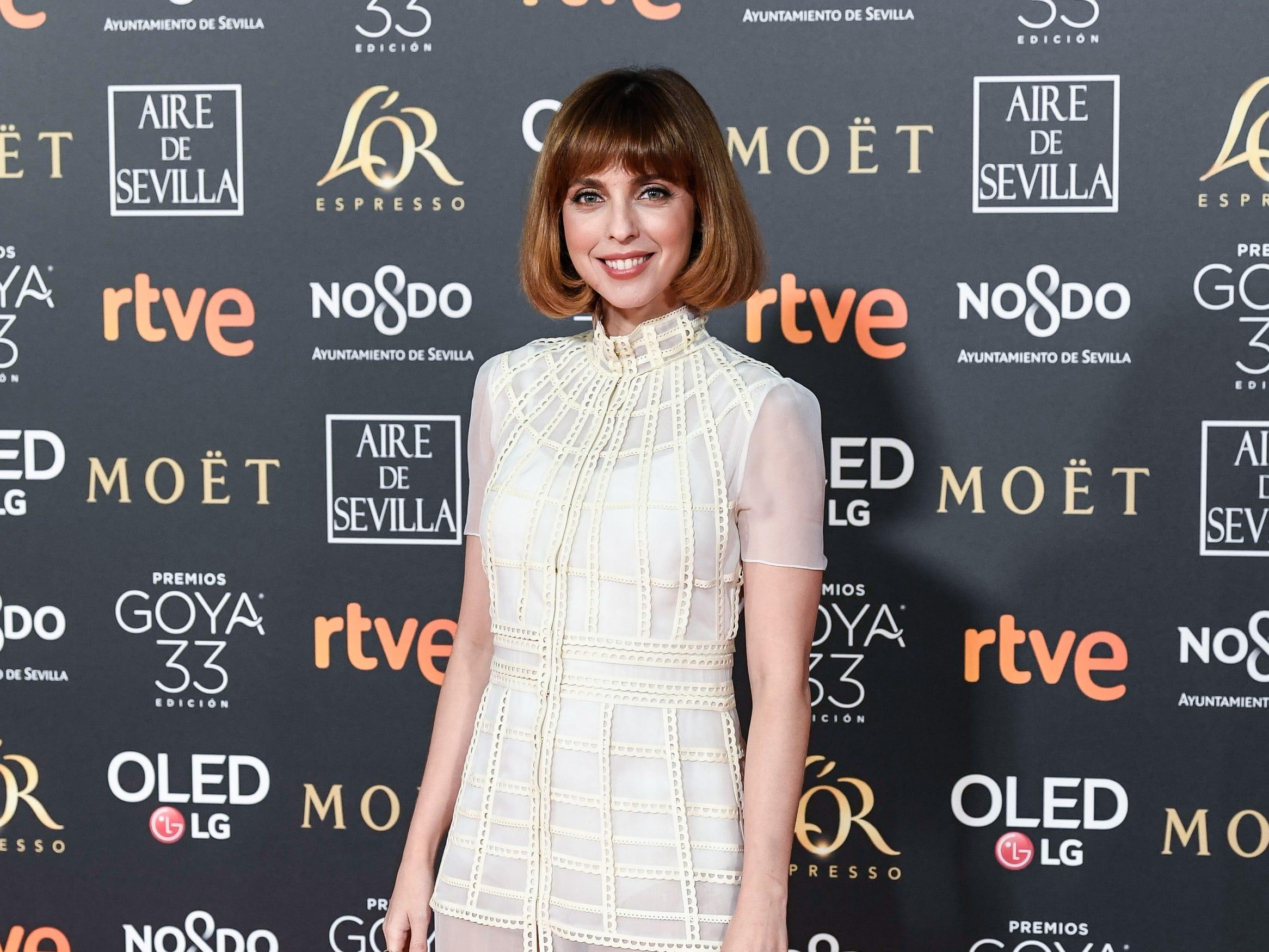 Leticia Dolera asiste a la 33ª edición de los Premios de Cine Goya en el Palacio de Congresos y Exposiciones FIBES el 2 de febrero de 2019 en Sevilla, España.