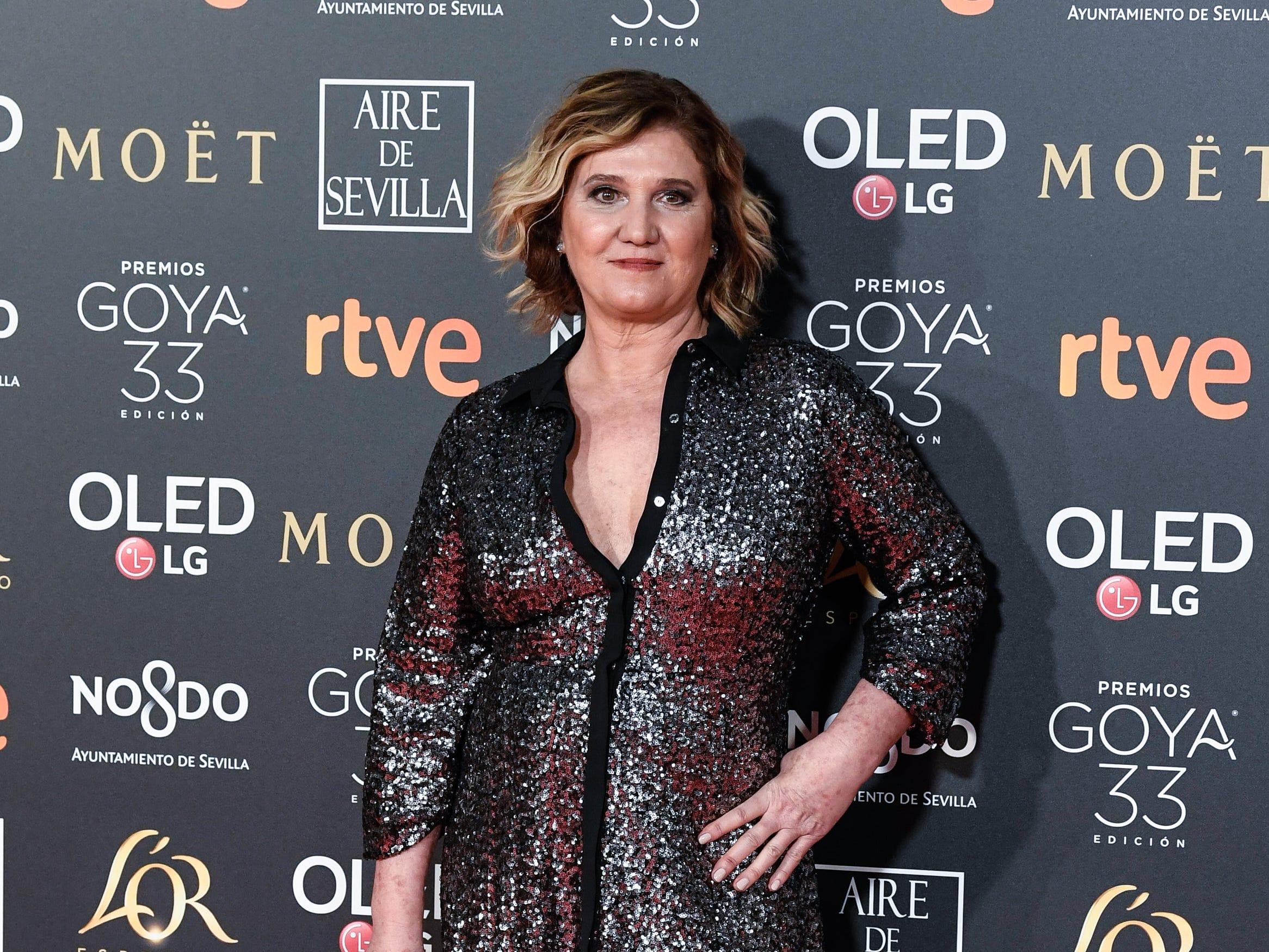 Ana Wagener asiste a la 33ª edición de los Premios de Cine Goya en el Palacio de Congresos y Exposiciones FIBES el 2 de febrero de 2019 en Sevilla, España.
