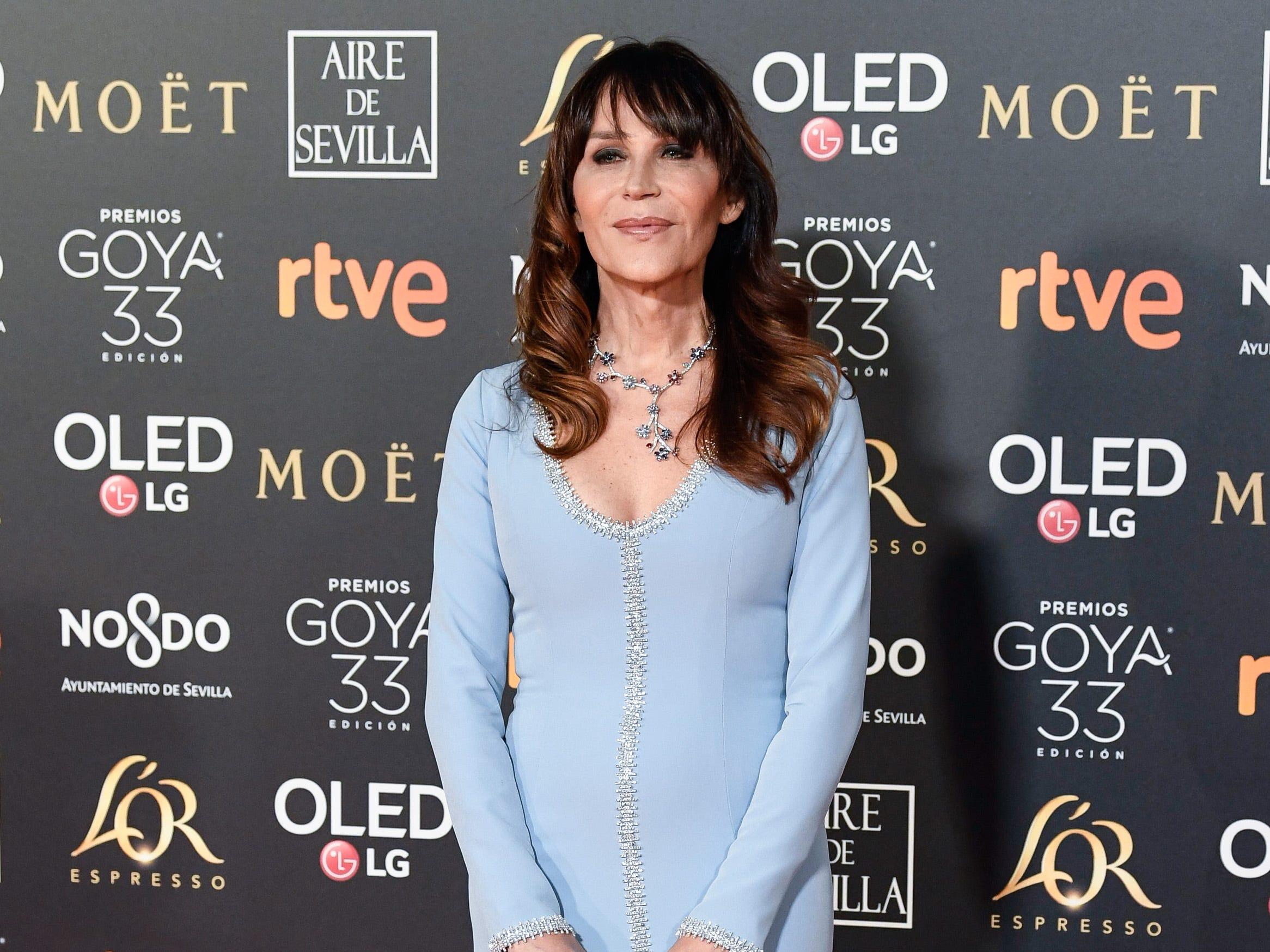 Antonia San Juan asiste a la 33ª edición de los Premios de Cine Goya en el Palacio de Congresos y Exposiciones FIBES el 2 de febrero de 2019 en Sevilla, España.
