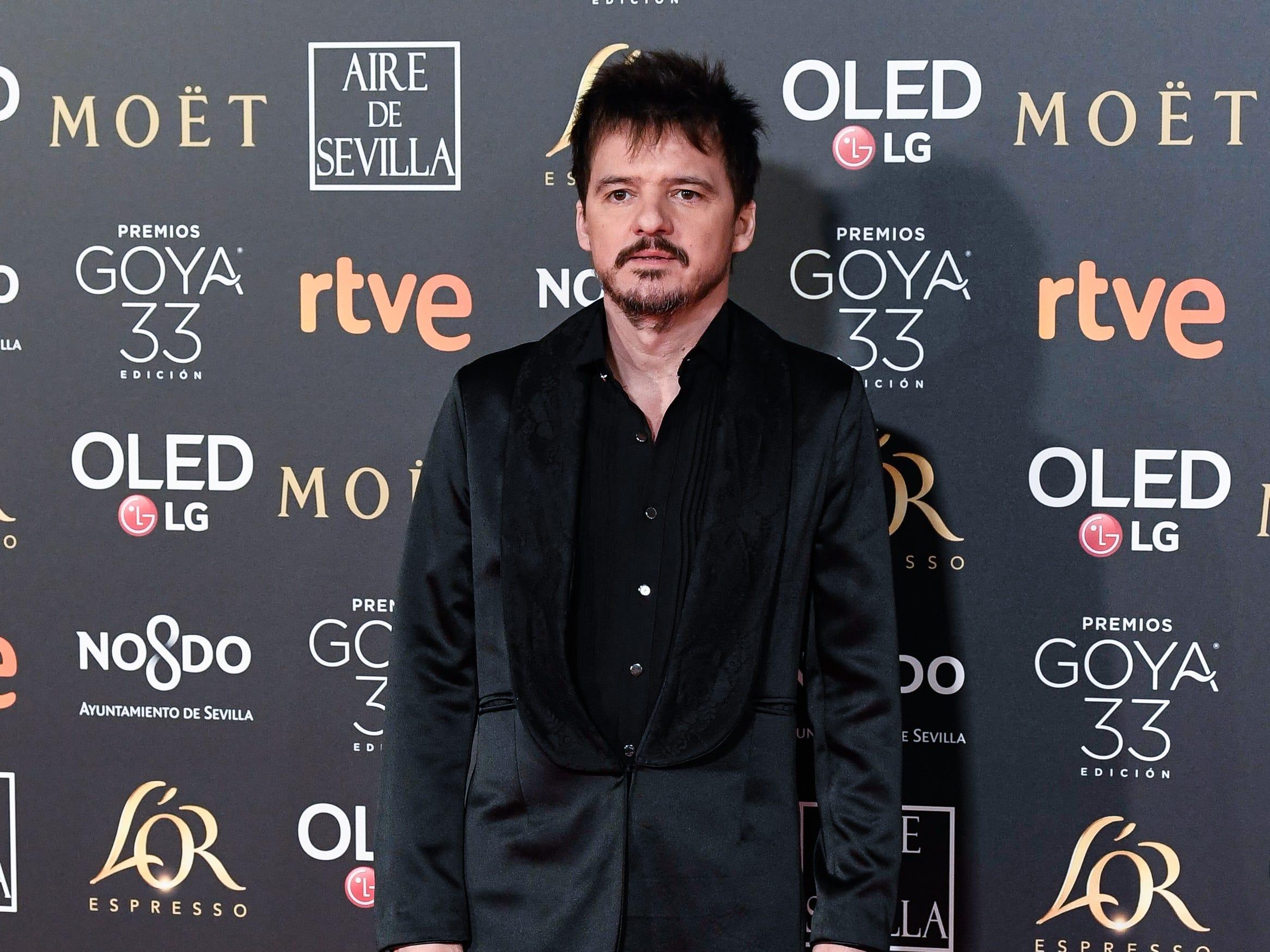 Coque Malla asiste a la 33ª edición de los Premios de Cine Goya en el Palacio de Congresos y Exposiciones FIBES el 2 de febrero de 2019 en Sevilla, España.