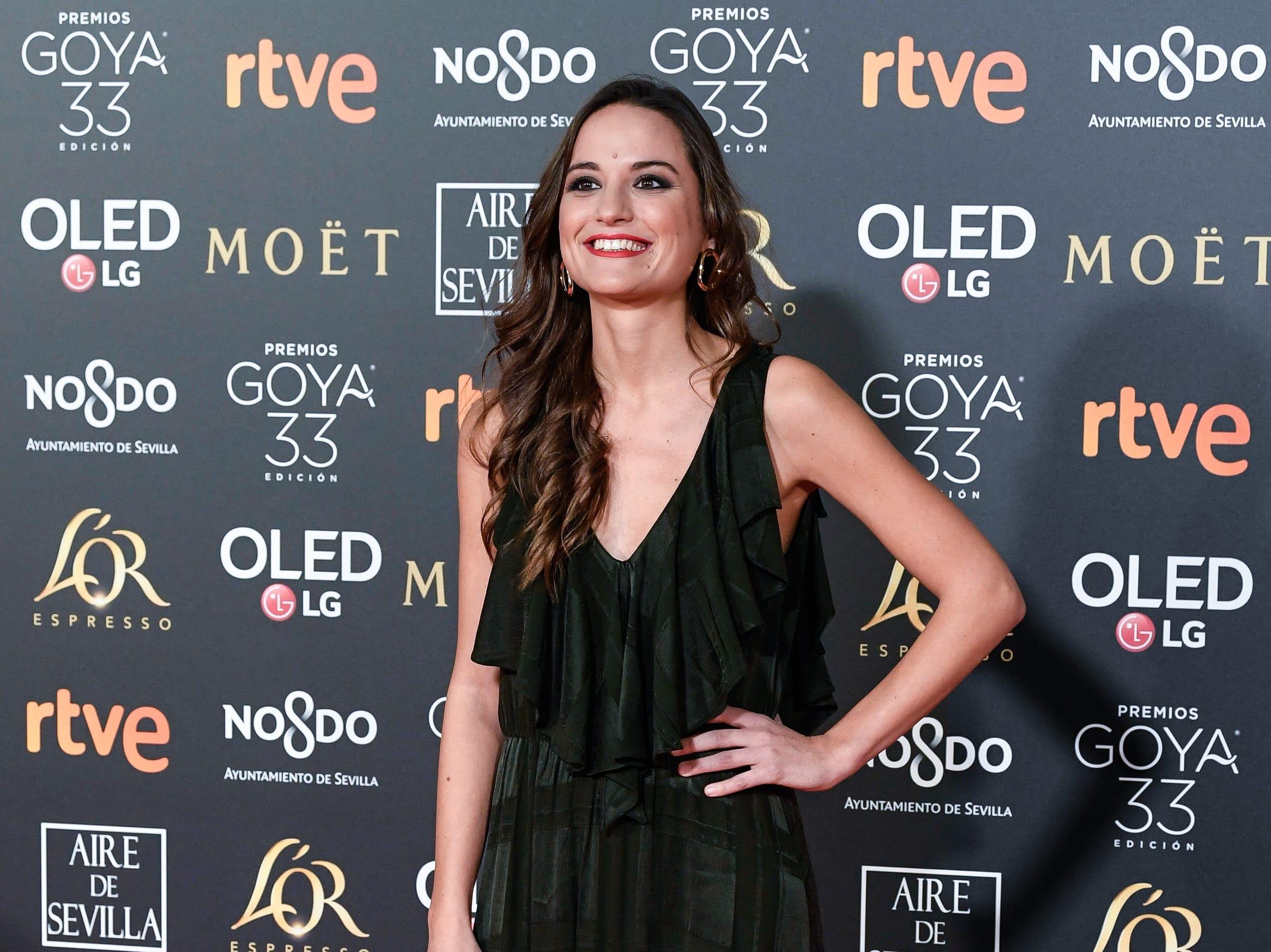 Judit Neddermann asiste a la 33ª edición de los Premios de Cine Goya en el Palacio de Congresos y Exposiciones FIBES el 2 de febrero de 2019 en Sevilla, España.