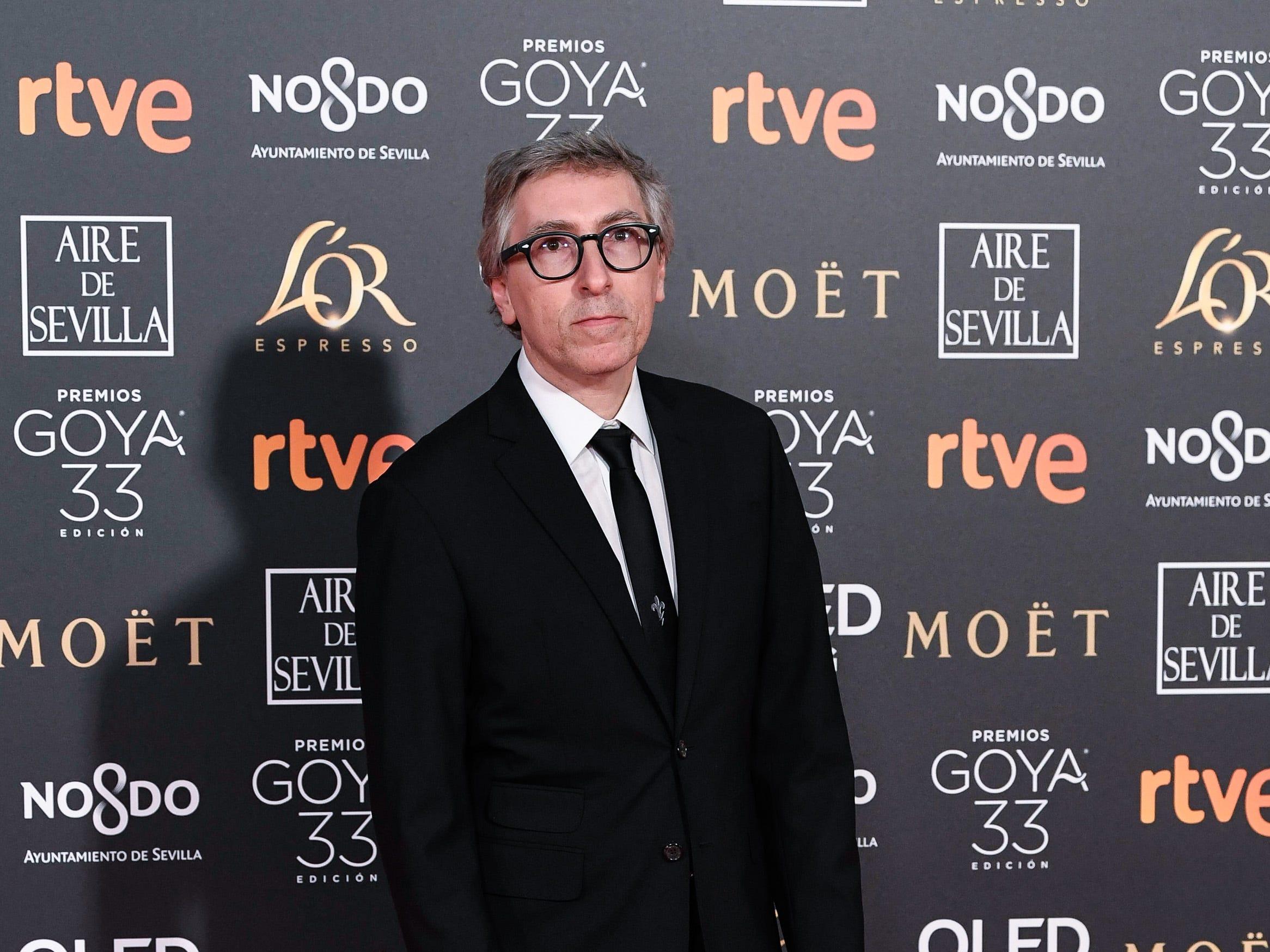 David Trueba asiste a la 33ª edición de los Premios de Cine Goya en el Palacio de Congresos y Exposiciones FIBES el 2 de febrero de 2019 en Sevilla, España.