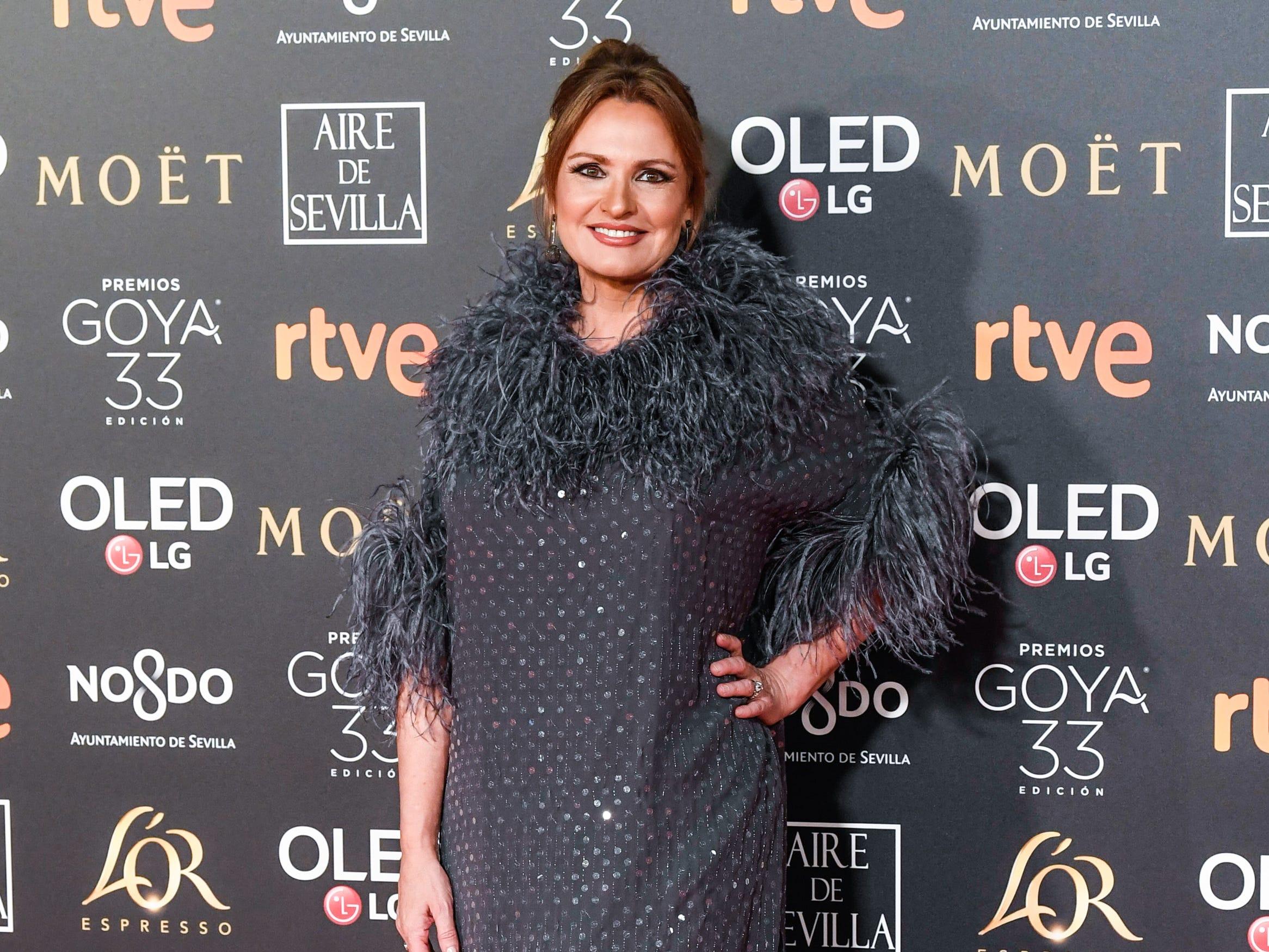Ainhoa Arteta asiste a la 33ª edición de los Premios de Cine Goya en el Palacio de Congresos y Exposiciones FIBES el 2 de febrero de 2019 en Sevilla, España.