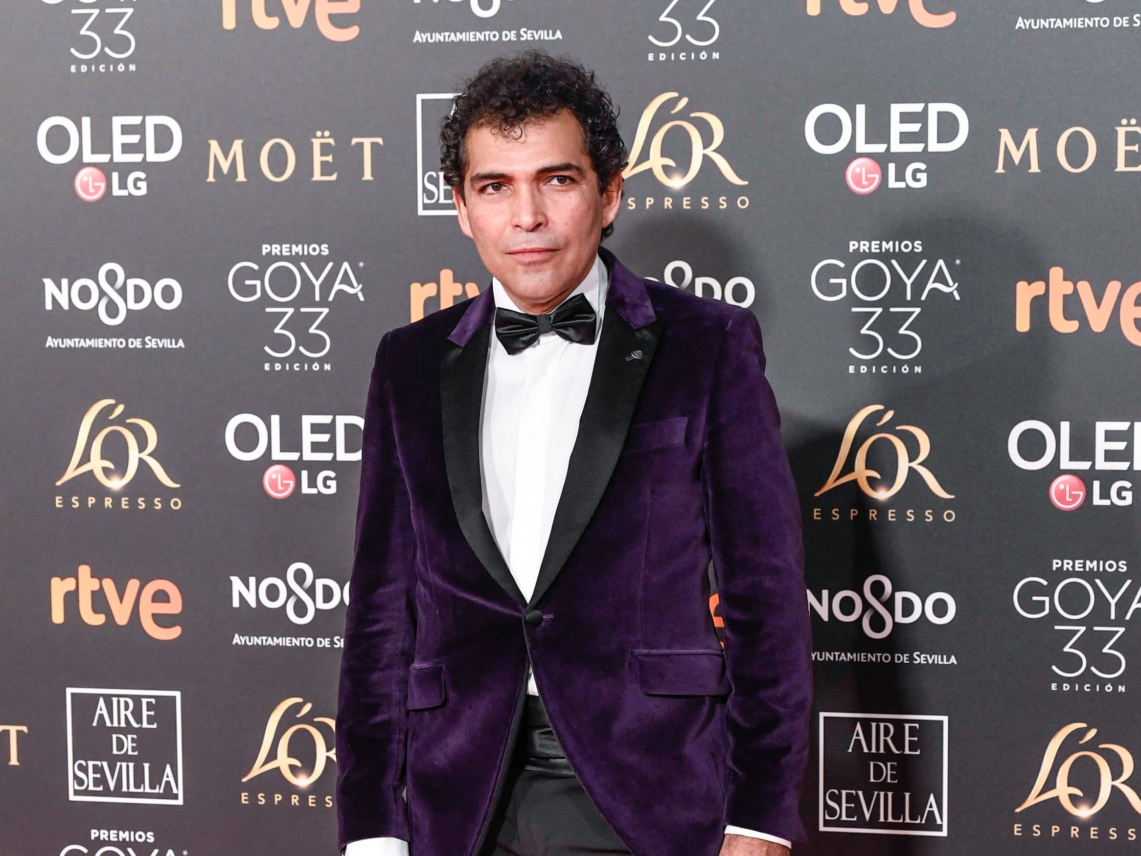 Vladimir Cruz asiste a la 33ª edición de los Premios de Cine Goya en el Palacio de Congresos y Exposiciones FIBES el 2 de febrero de 2019 en Sevilla, España.