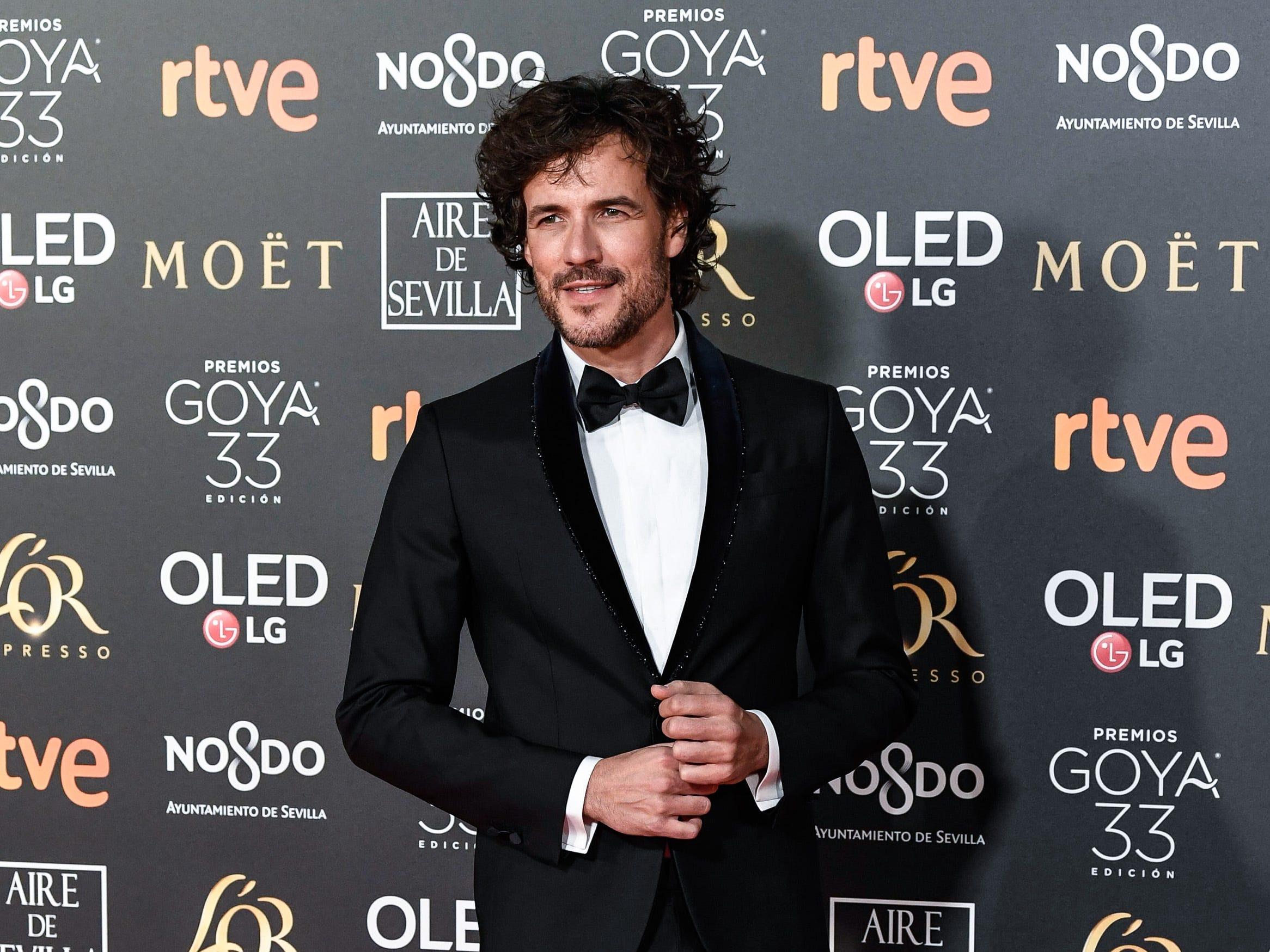 Daniel Grao asiste a la 33ª edición de los Premios de Cine Goya en el Palacio de Congresos y Exposiciones FIBES el 2 de febrero de 2019 en Sevilla, España.