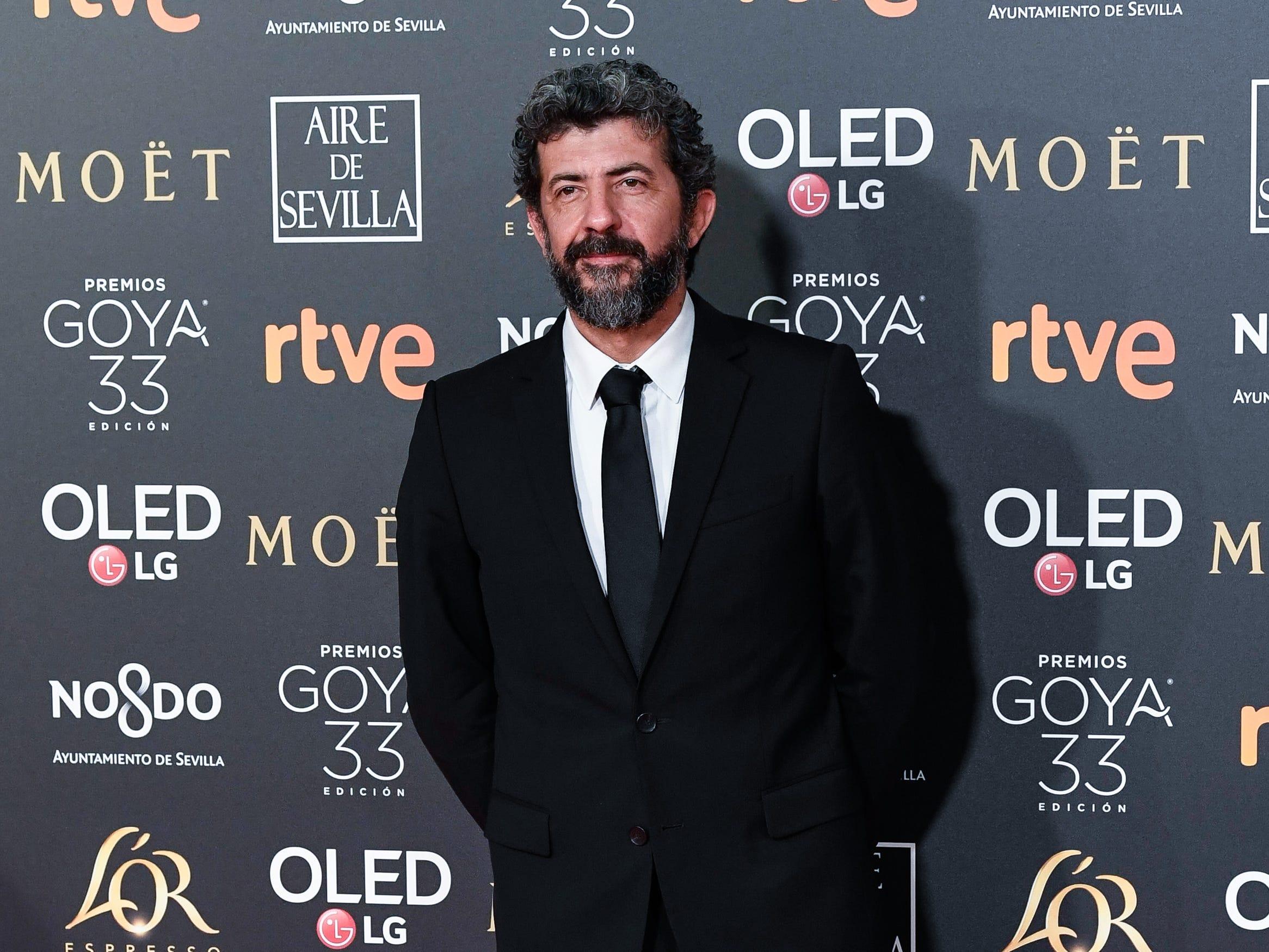 Alberto Rodríguez asiste a la 33ª edición de los Premios de Cine Goya en el Palacio de Congresos y Exposiciones FIBES el 2 de febrero de 2019 en Sevilla, España.