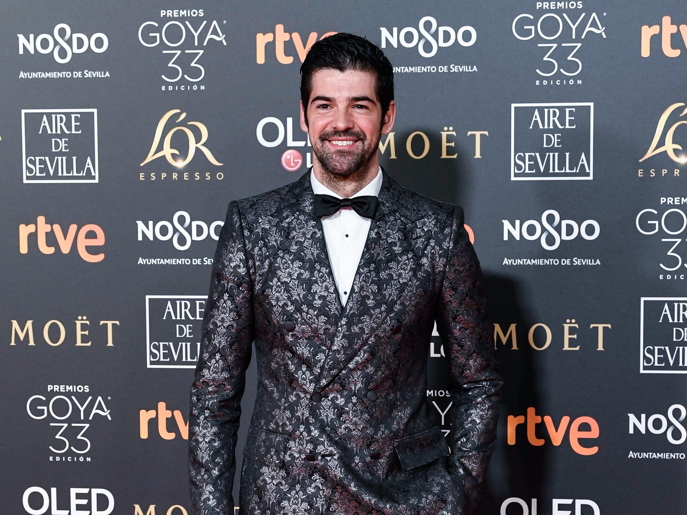 Miguel Angel Muñoz asiste a la 33ª edición de los Premios de Cine Goya en el Palacio de Congresos y Exposiciones FIBES el 2 de febrero de 2019 en Sevilla, España.