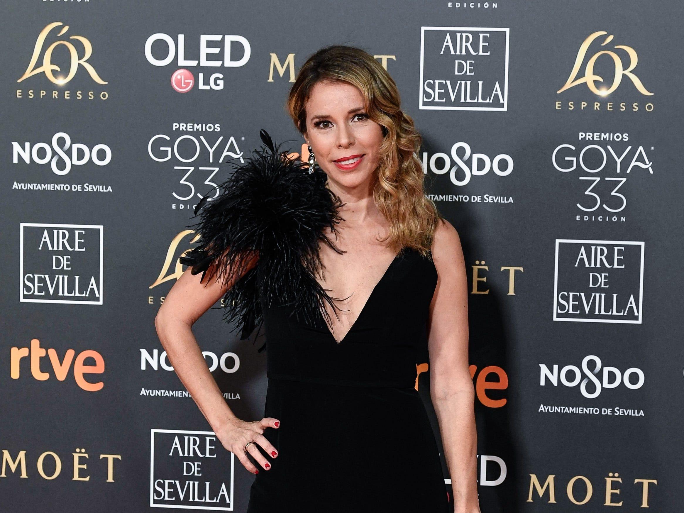 Athenea Mata asiste a la 33ª edición de los Premios de Cine Goya en el Palacio de Congresos y Exposiciones FIBES el 2 de febrero de 2019 en Sevilla, España.