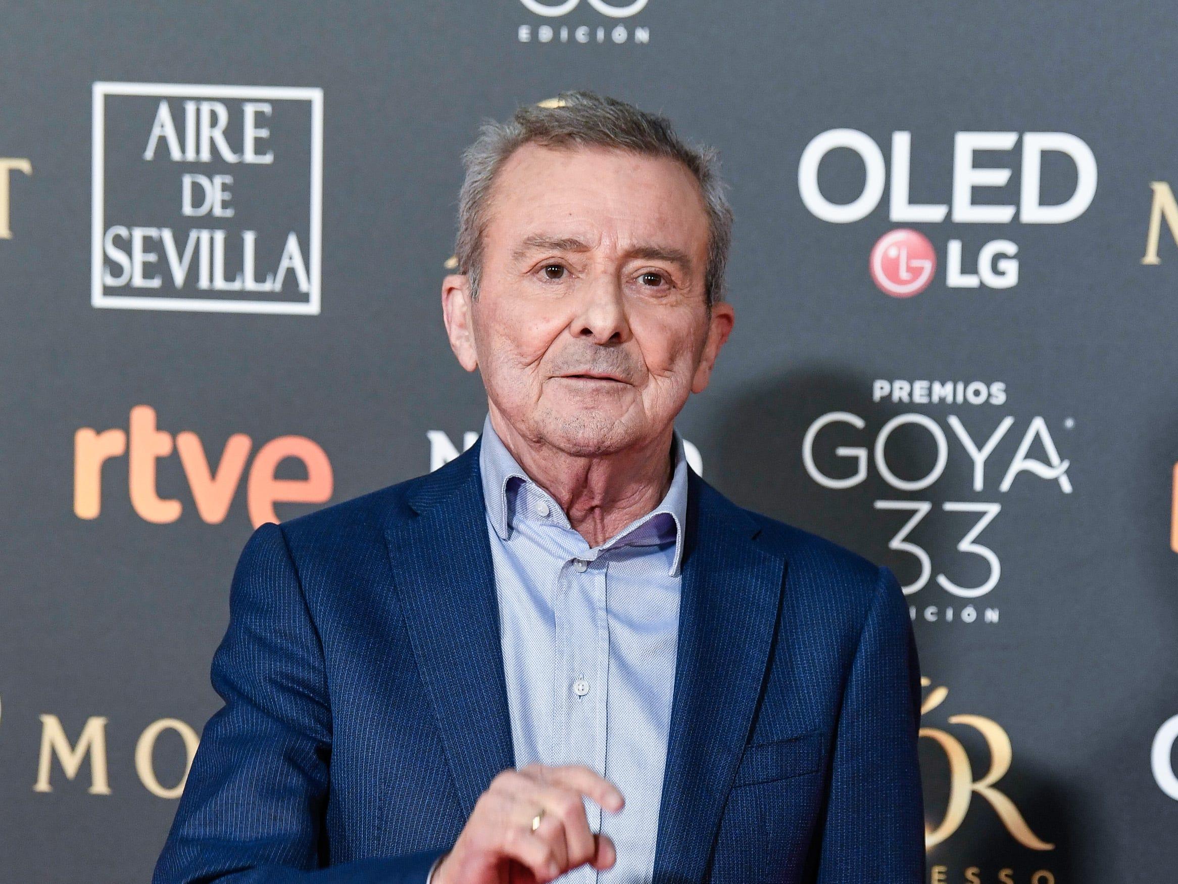 Juan Diego asiste a la 33ª edición de los Premios de Cine Goya en el Palacio de Congresos y Exposiciones FIBES el 2 de febrero de 2019 en Sevilla, España.