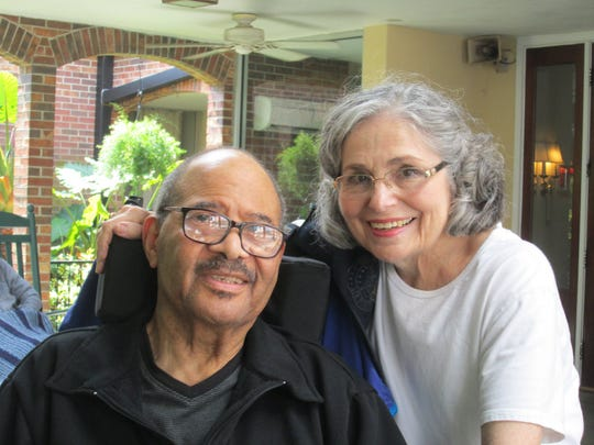 Wm. Lee Smallwood, left, with his wife, Janis Rozelle. Smallwood, a York City native and long-time city councilman, died Wednesday, Jan. 30, after a long battle with multiple sclerosis. He was 73.
