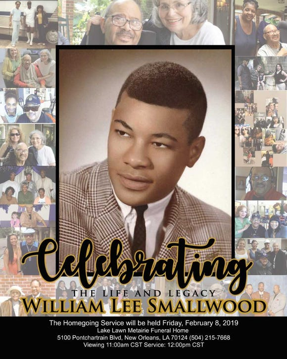 This is the homegoing poster for York community leader Wm. Lee Smallwood, who passed away Jan. 30. Smallwood, 73, served more than two decades on the York City Council and was the second black man elected to the council.