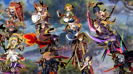 Etrian Odyssey Nexus for the Nintendo 3DS