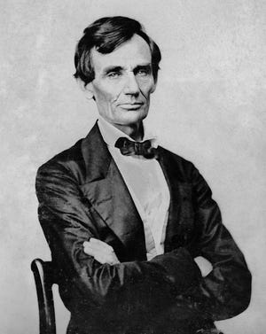 President-elect Abraham Lincoln, on his way to Washington on Feb. 11, 1861, heard a Richmond band playing in Indianapolis and was so impressed he asked to dine with them.