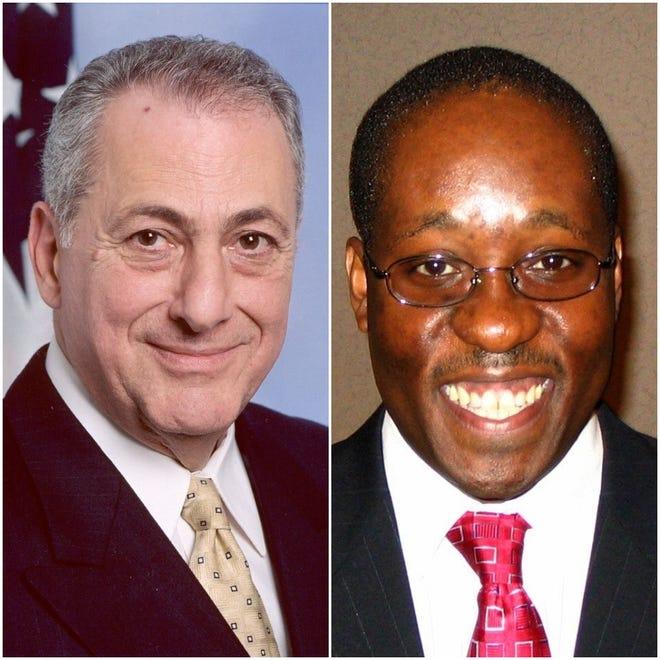 Former Assemblyman Joseph Errigo, left, and lobbyist Robert Scott Gaddy.