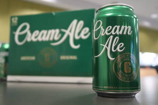 The Genesee Brewery is relaunching a rebranded Cream Ale this month.