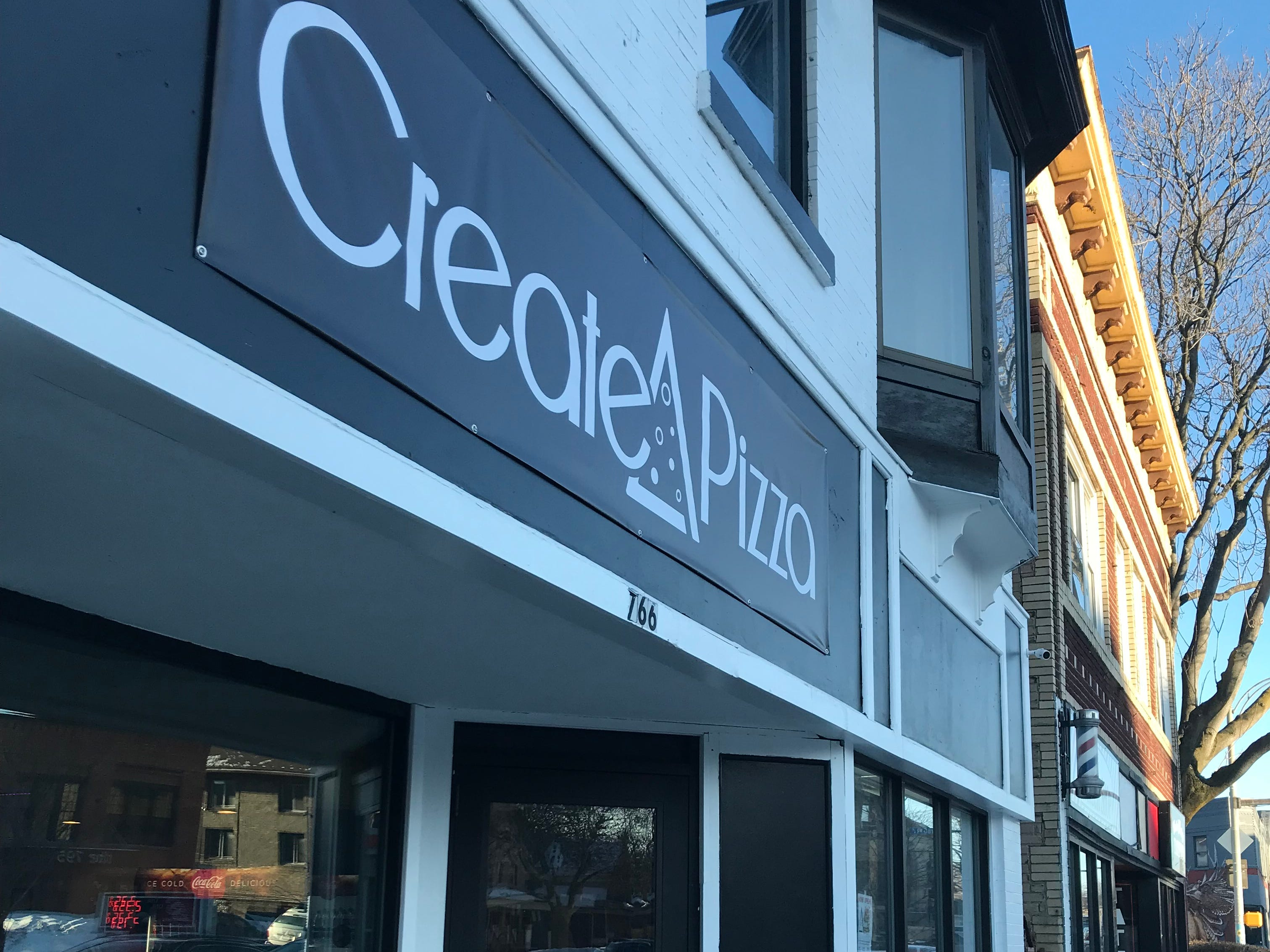 Create A Pizza is at 766 Monroe Ave.