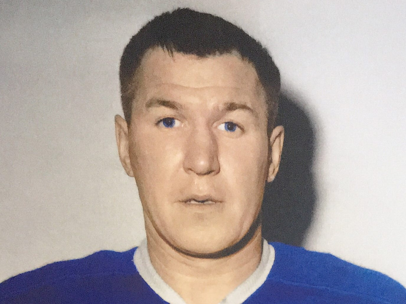 Joe Crozier played five games for the Toronto Maple Leafs during the 1959-60 season, recording three assists and two penalty minutes. He joined the Rochester Americans for the 1960-61 campaign.