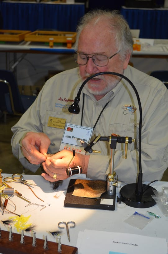 Jim Ferguson, the 2006 Stan Walters Memorial Tyer of the Year and former Expo chairman, will be among the top fly tyers at the NW Fly Tyers & Fly Fishers Expo on March 8 and 9 in Albany.