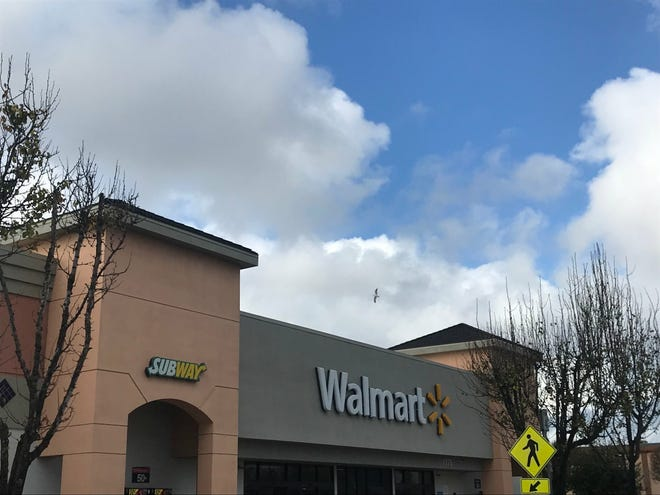 The Walmart on North Davis Road in Salinas received a bomb threat Monday afternoon by someone with a disguised voice. The building has since been cleared by police and is open for business.