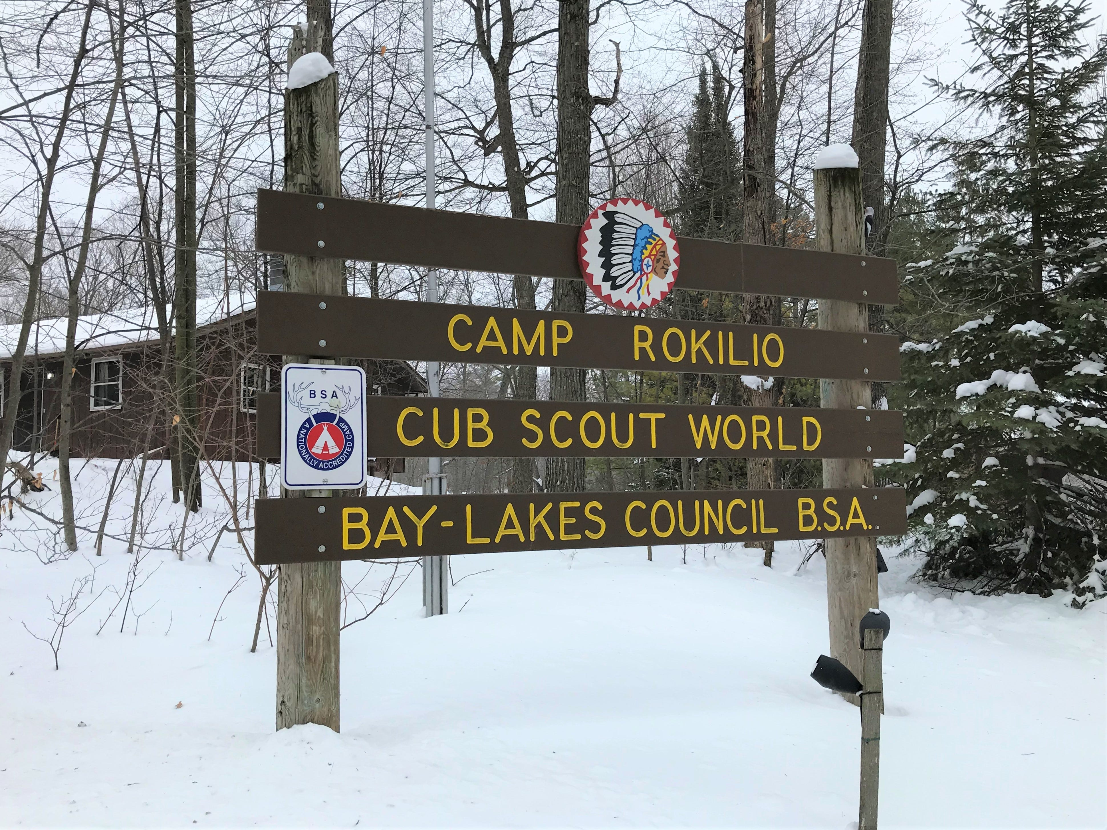 Camp Rokilio in Kiel was the meeting place for scouts of Scouts BSA as part of the new co-ed program.