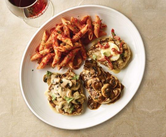 Fare from Carrabba's Italian Grill.