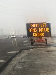 A reminder from the Minnehaha County Highway Department.