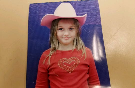 Serenity Dennard, 9, was last seen leaving the Children's Home Society in Rapid City on Sunday, Feb. 3, 2019.