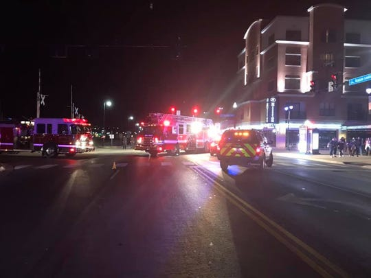 Three people were hit by a vehicle Feb. 2 intersection of Branson Landing Boulevard and Main Street. One of the victims later died.
