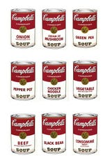 """""""Campbell's Soup 1"""" screenprints made in 1968 by Andy Warhol were reproduced in a Springfield Art Museum brochure prepared for a 2016 Pop Art exhibit. It was the first time the prints had been shown in a decade. The theft of seven of the Warhols was discovered April 7, 2016, and the museum later received a $750,000 insurance payout to cover the loss."""