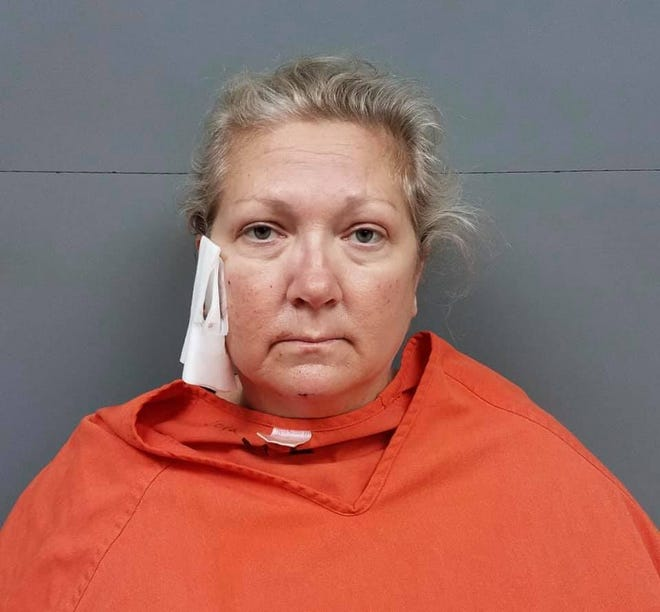 Sherrie Jones of Eastpoint was hospitalized after she was involved in a shooting with a Franklin County Sheriff's deputy on Friday.
