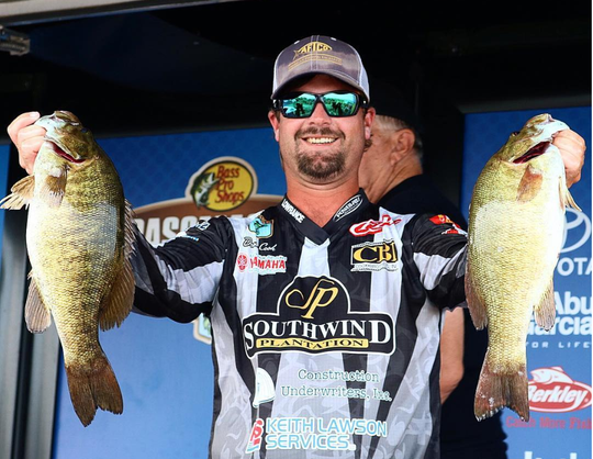 Quincy native Drew Cook is competing against the best in the world at the Bassmasters Elite at St. Johns River in Palatka.