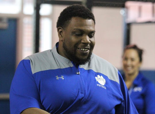 Brandon McCray, previously Godby's offensive line coach, was announced Monday as Godby's new head football coach much to the agreement of the Cougars' players. McCray, a former Lincoln player and assistant coach, replaces Corey Fuller.