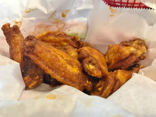 Lefty's has 27 sauces for their bone-in or boneless wings.
