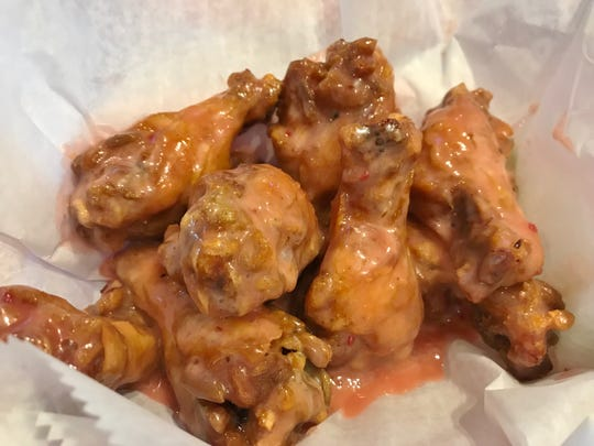 Razmatazz wings are both tangy and sweet