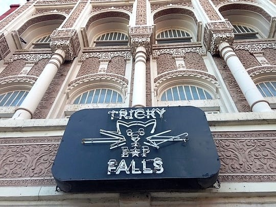The Tricky Falls concert hall closed late last year after the owners building lease was not renewed.
