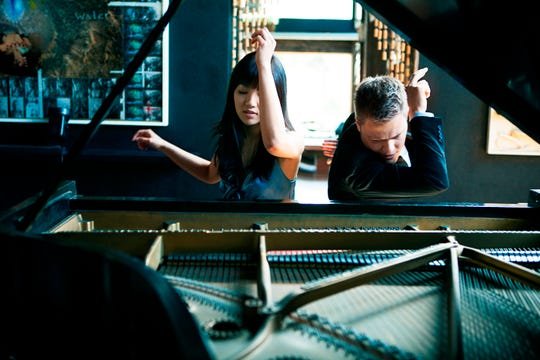 Piano due Elizabeth Joy Roeand Greg Anderson will perform in a special event for the Ventura Music Festival's 25th anniversary  8 p.m. on Feb. 9 at the Ventura College Performing Arts Center.