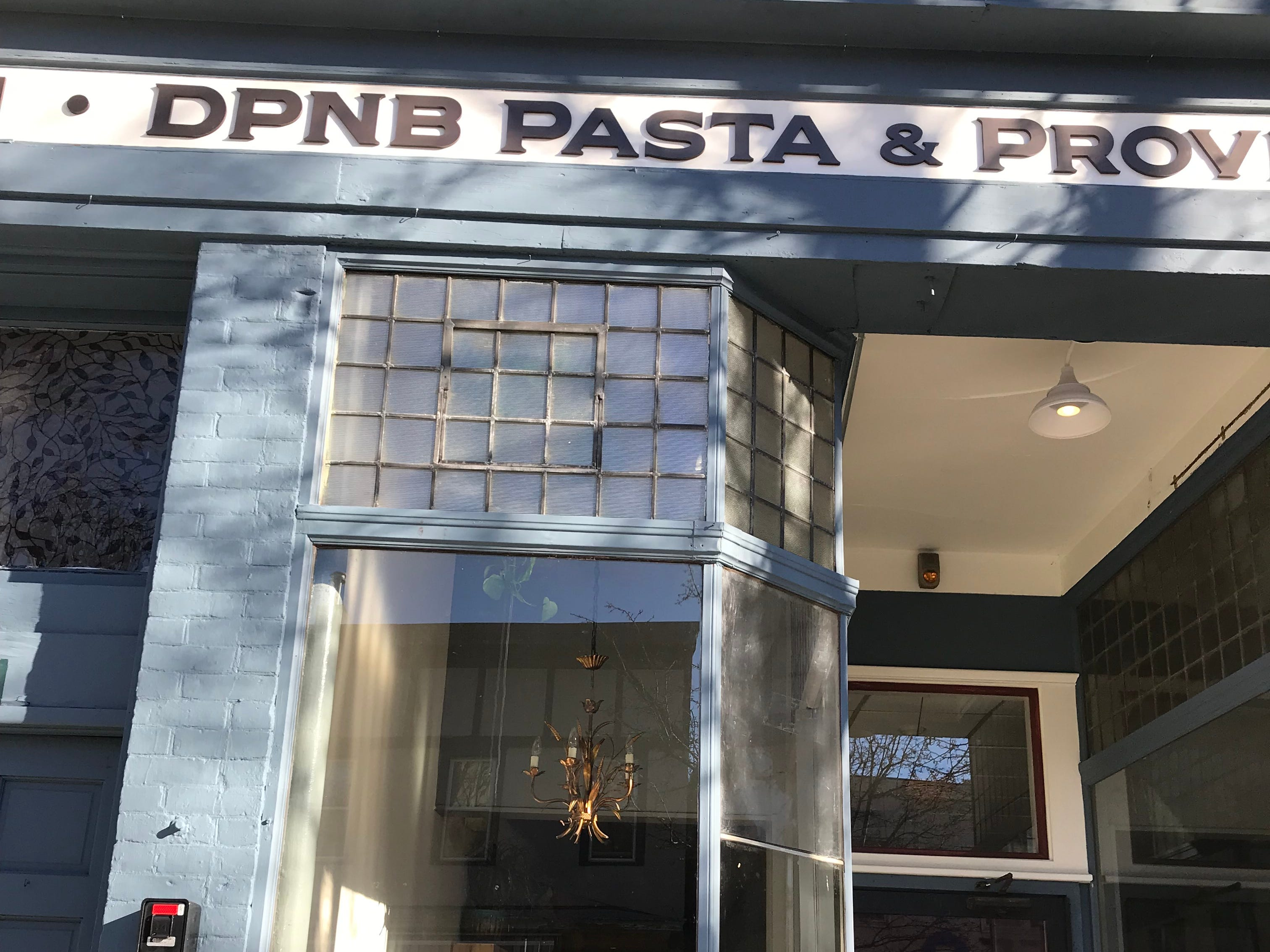 The exterior of DPNB Pasta & Provisions in Nyack. Photographed January 31, 2019.