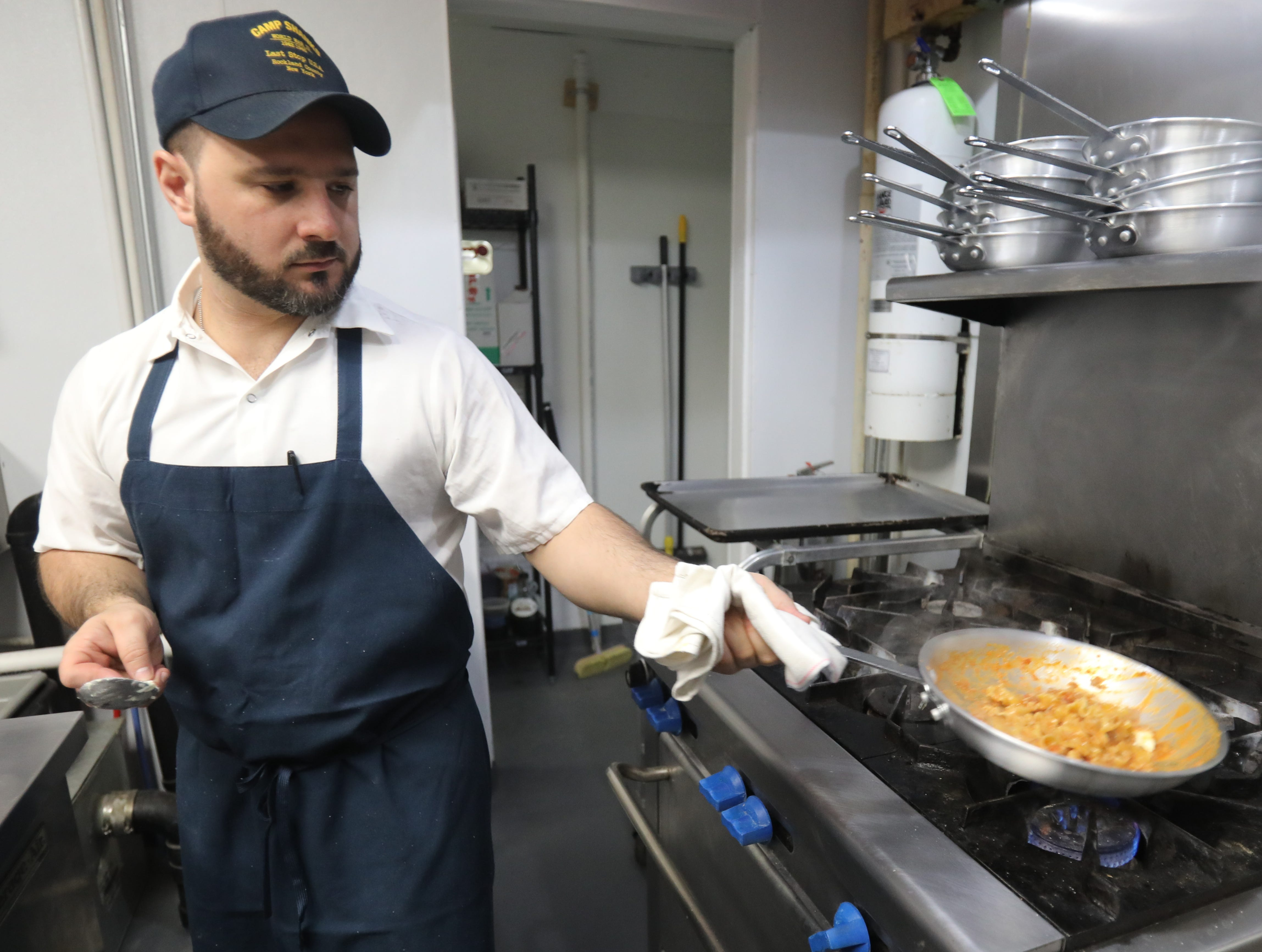 Tony Scotto, owner of DPNB Pasta & Provisions tripoline at the restaurant in Nyack on Jan. 31, 2019.