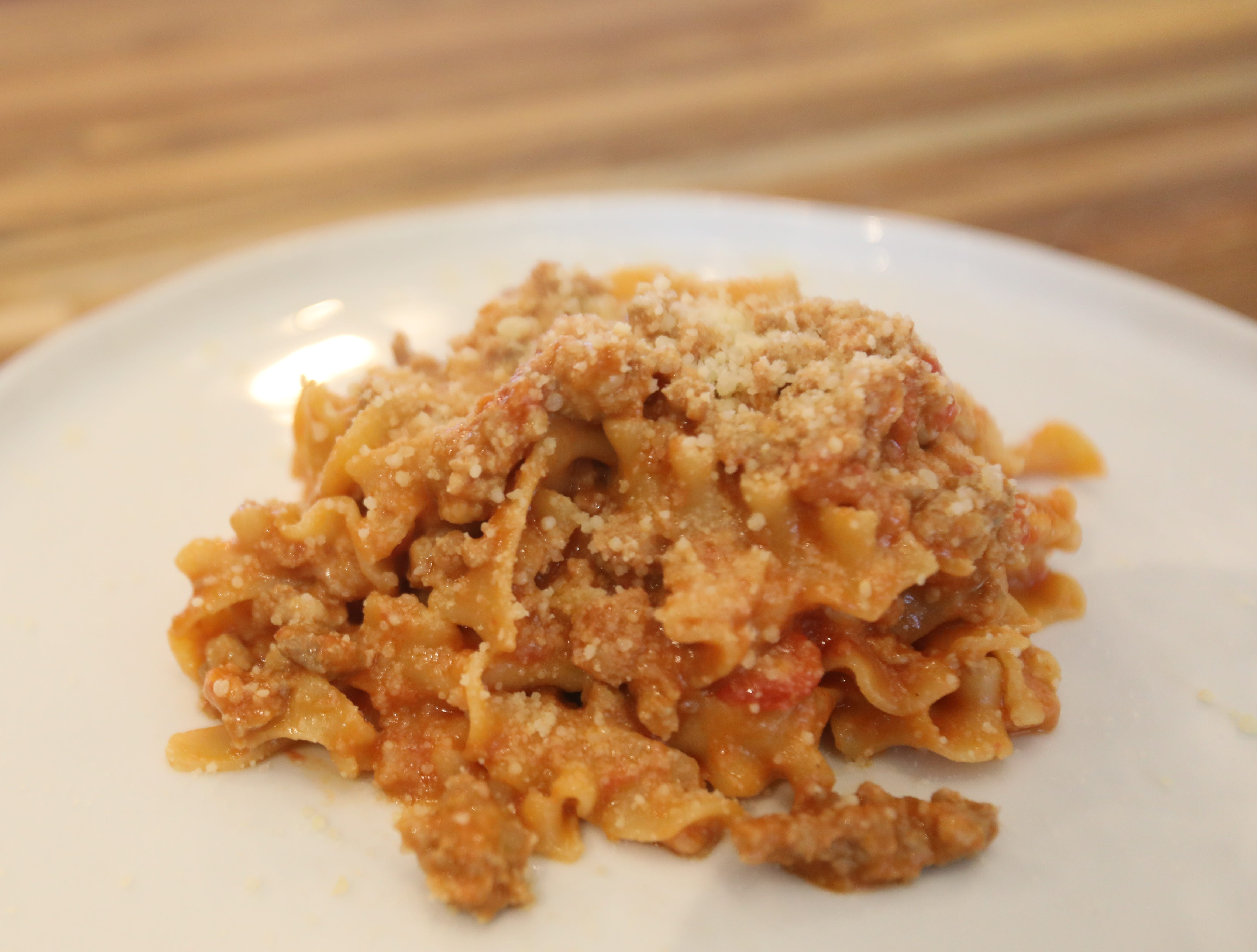 Tripoline is a dish made at DPNB Pasta & Provisions in Nyack on Jan. 31, 2019.