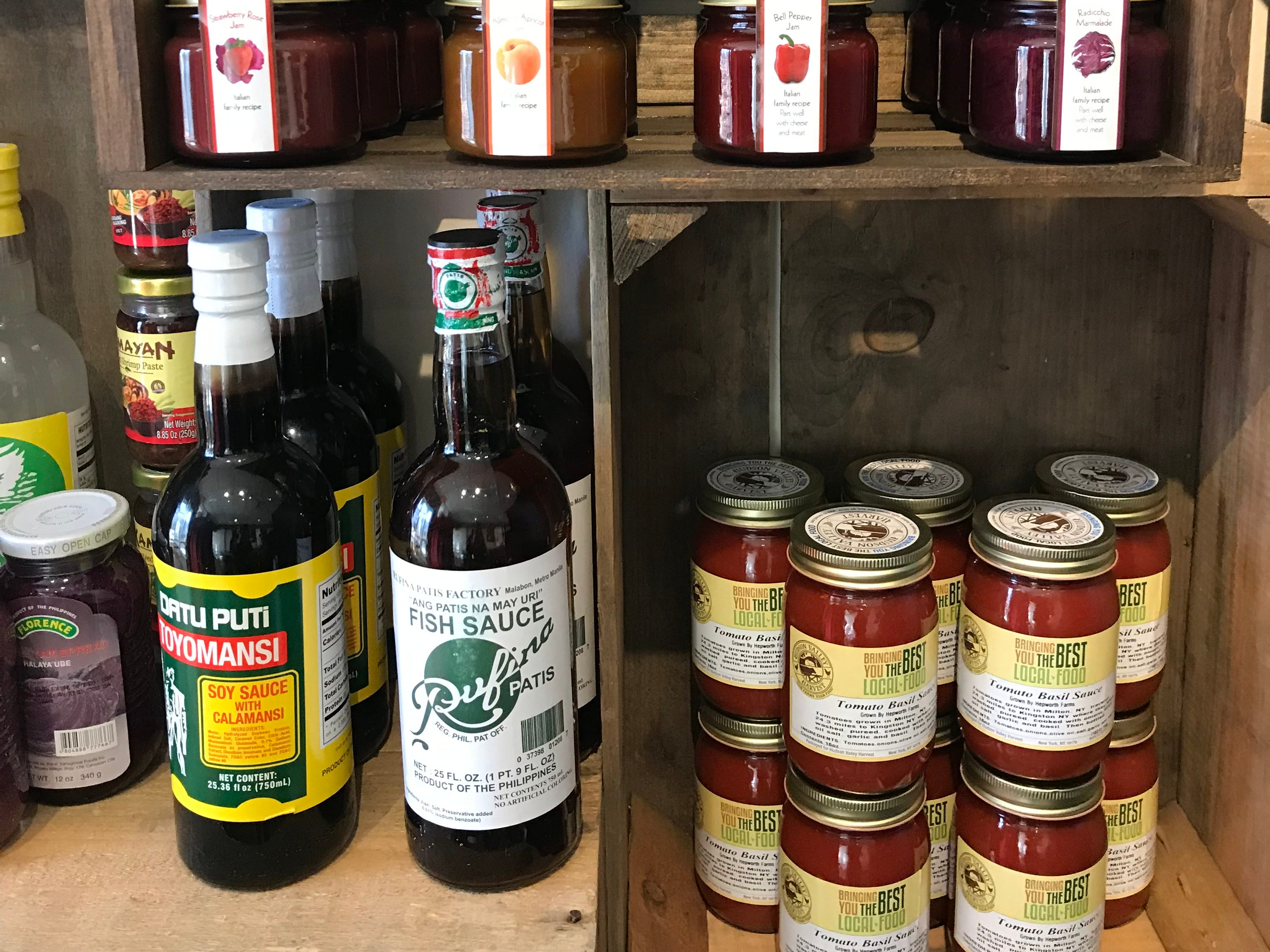 Some of the provisions at DPNB Pasta & Provisions in Nyack. Photographed January 31,2019.