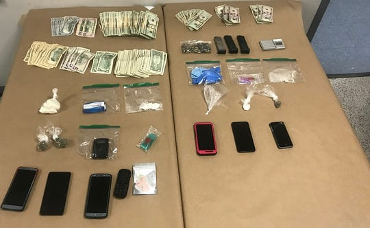 A mother and son were charged with drug-distribution related charges in Elkton, Maryland on Thursday